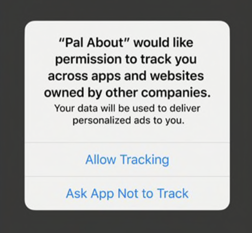 How to block iPhone app tracking walkthrough 2