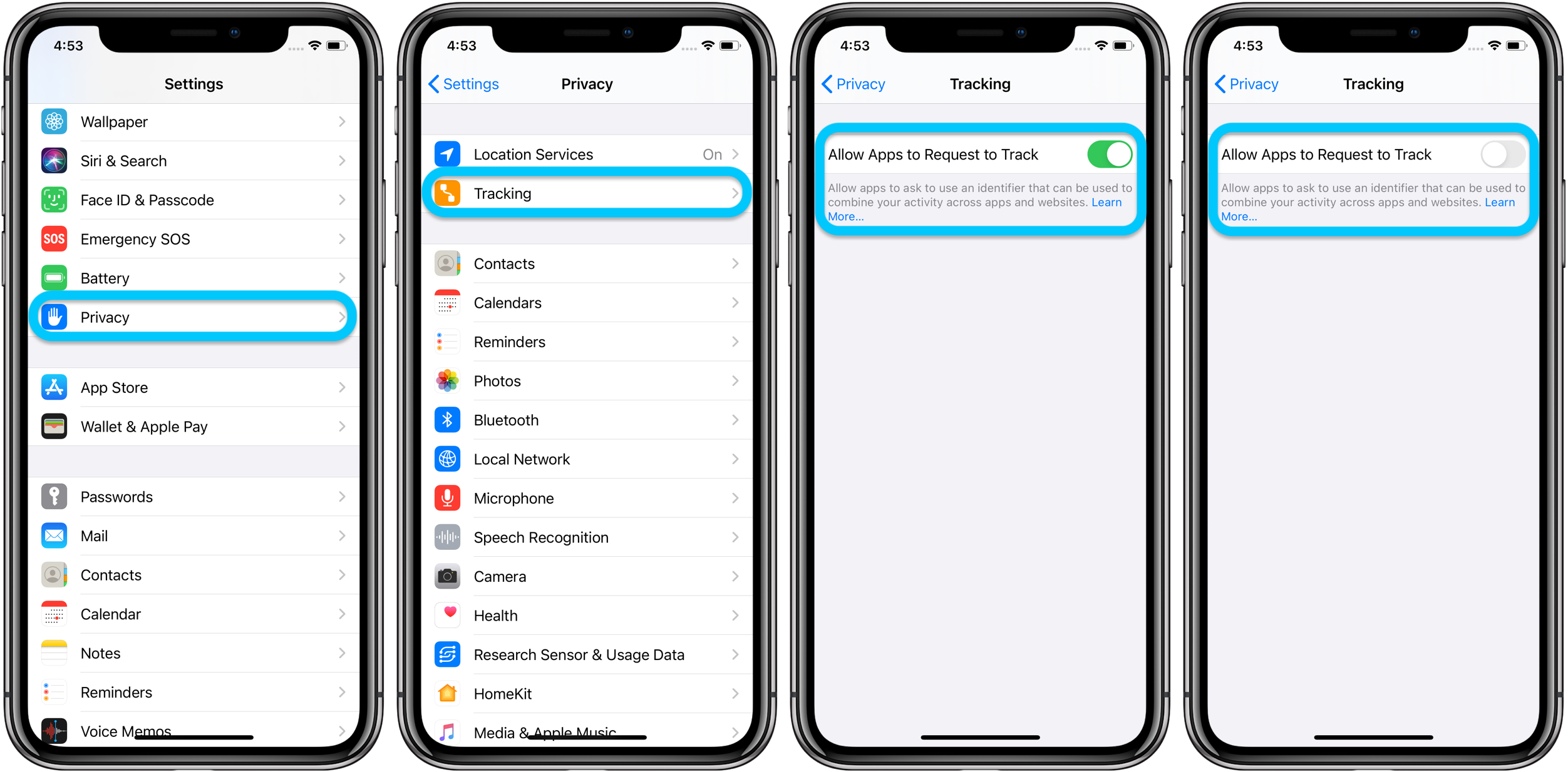 How to block iPhone apps from tracking you