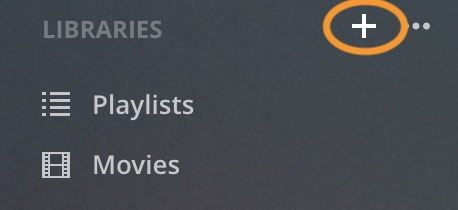 How to create the Plex library review 1