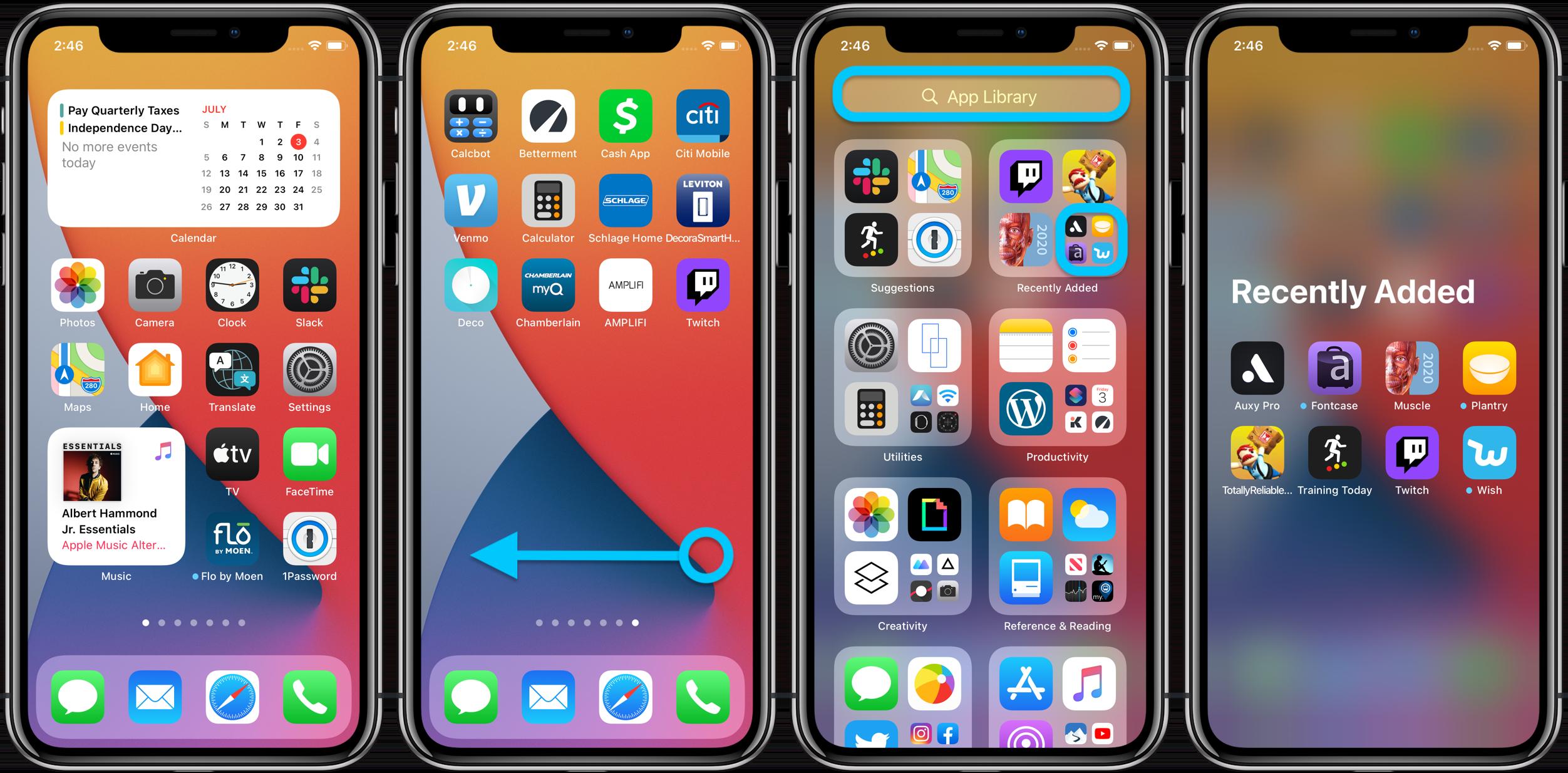 Как использовать библиотеку приложений для iPhone iOS 14, пошаговое руководство 1