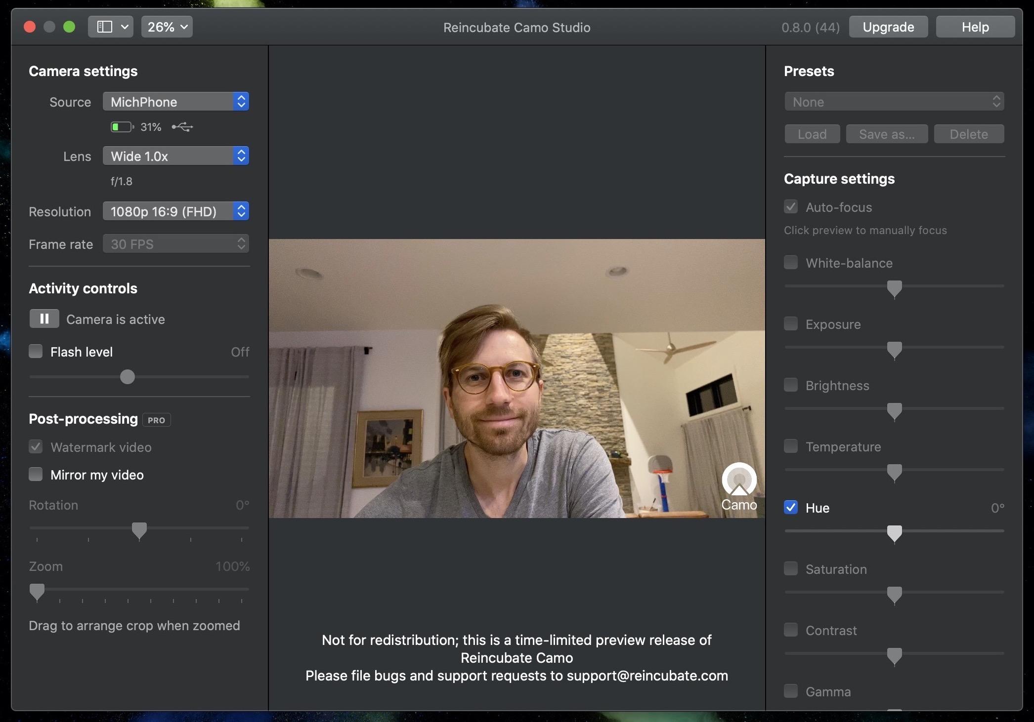 How to use iPhone as Mac webcam Reincubate Camo