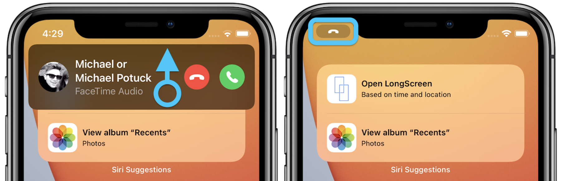 How to Use the Compact Calling Interface for iPhone iOS 14 Walkthrough 3