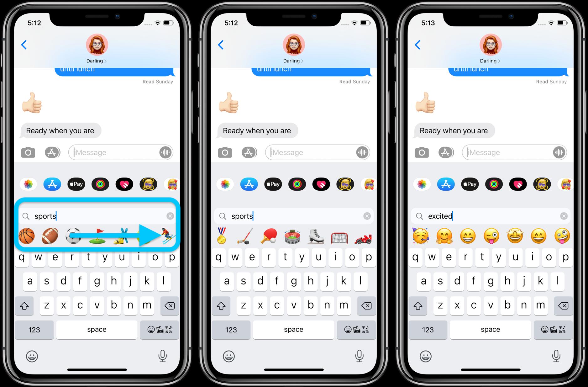 How to use iPhone emoji search iOS 14 walkthrough 2