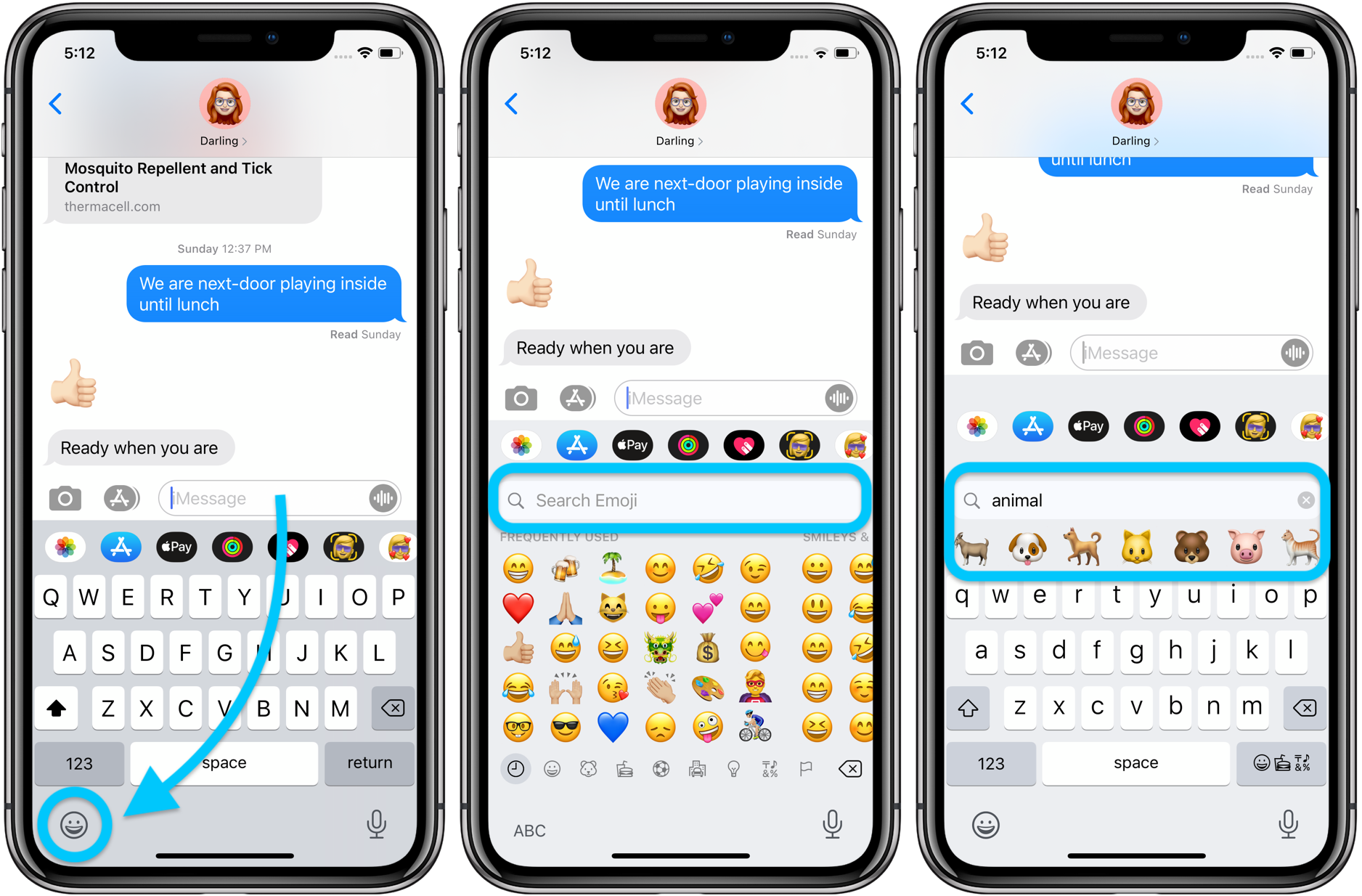 How to use iPhone emoji search iOS 14 walkthrough 1