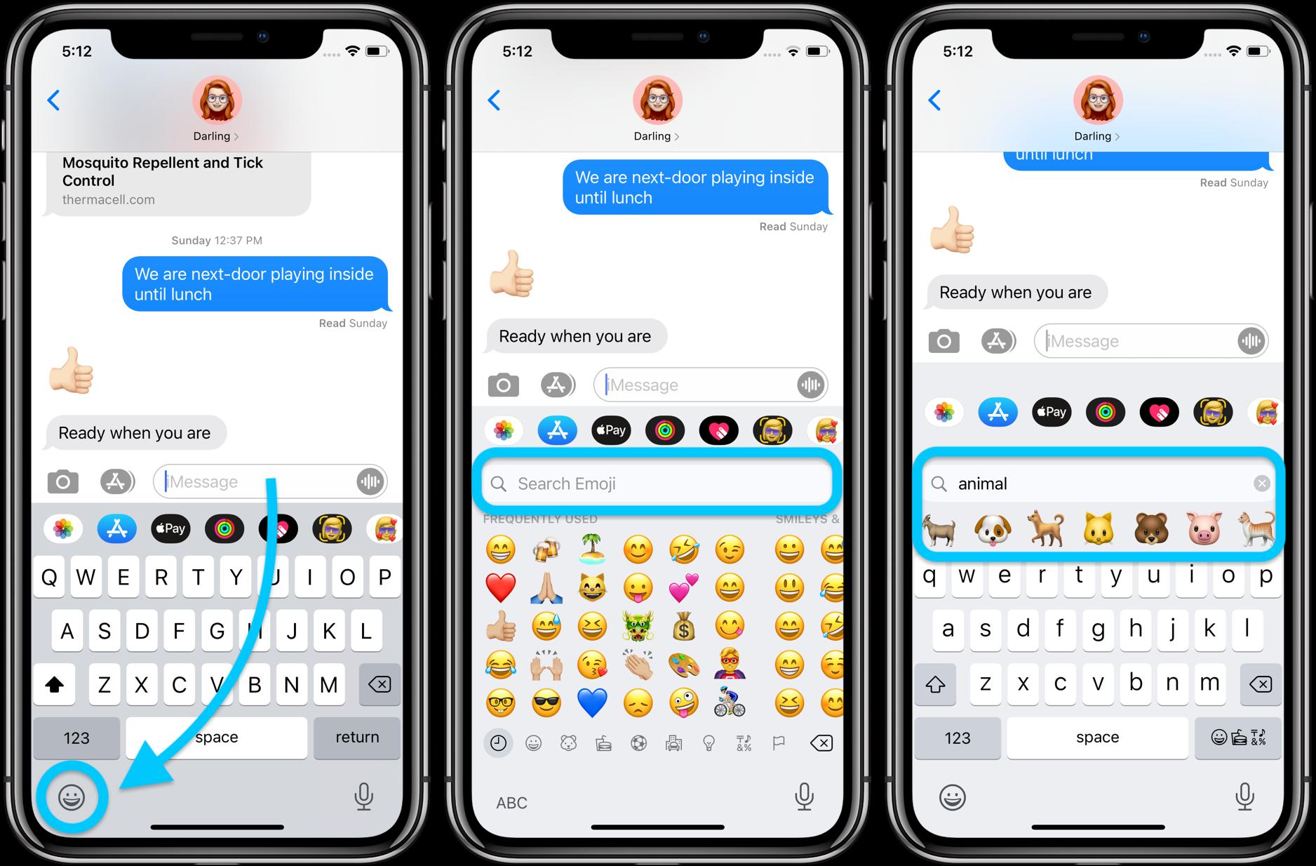 How to use iPhone emoji search iOS 14 walkthrough 1