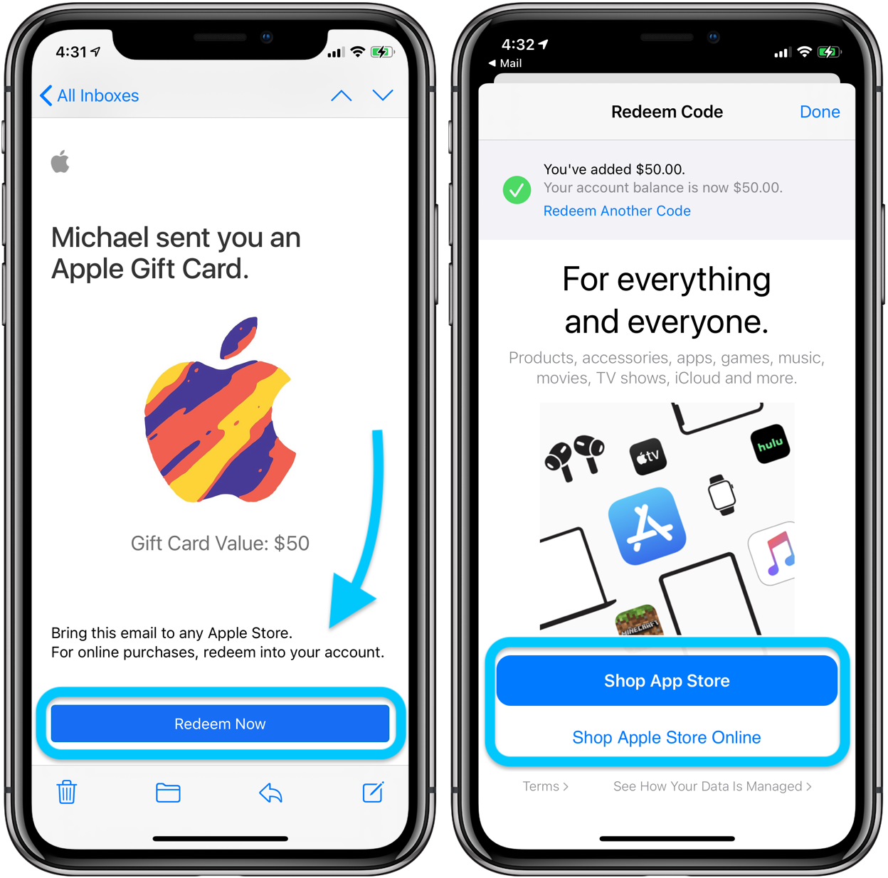 How to use Apple Gift Card on iPhone, iPad, Mac