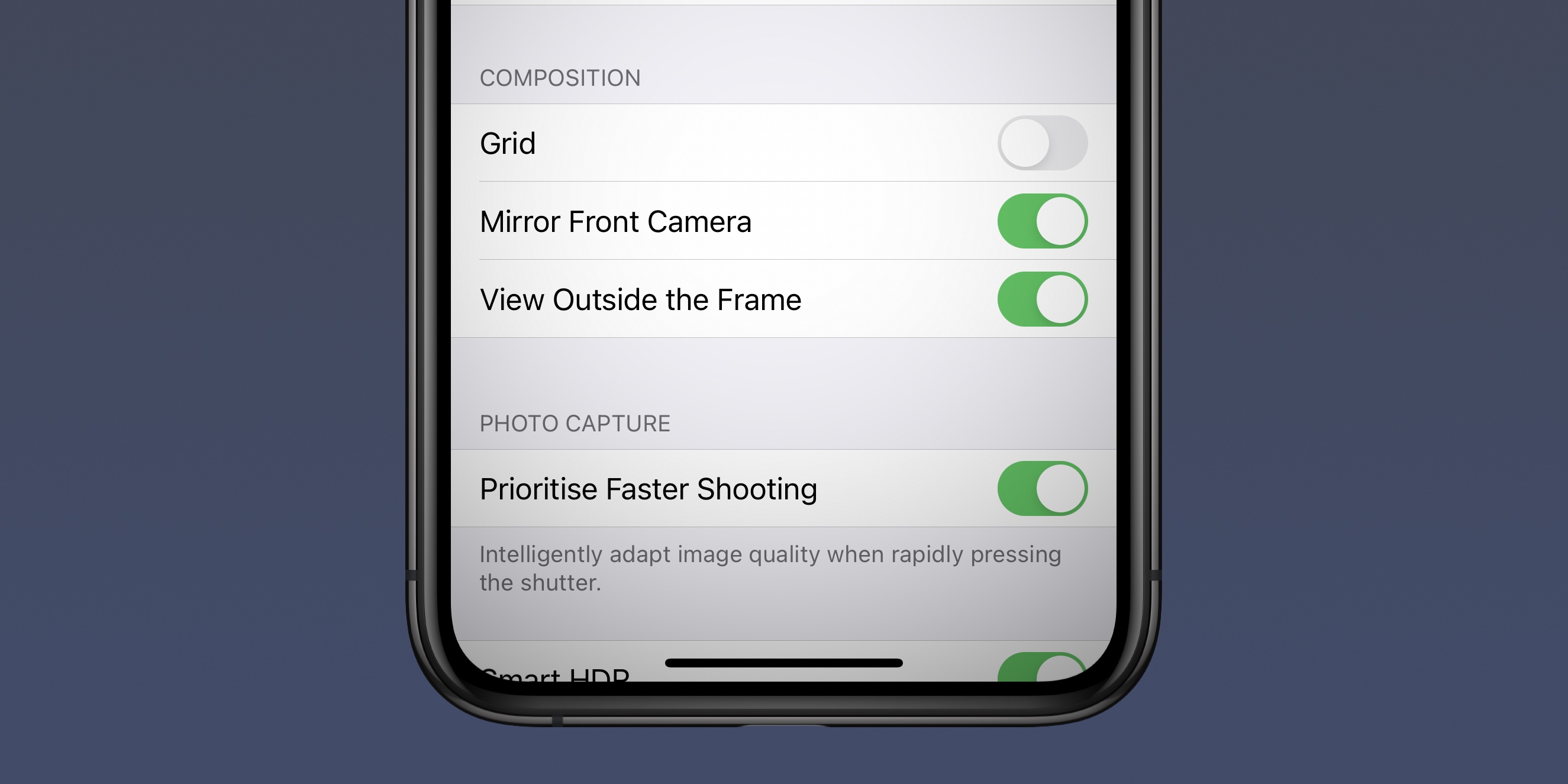 photo of iOS 14 on iPhone: Mirror front facing camera selfies image