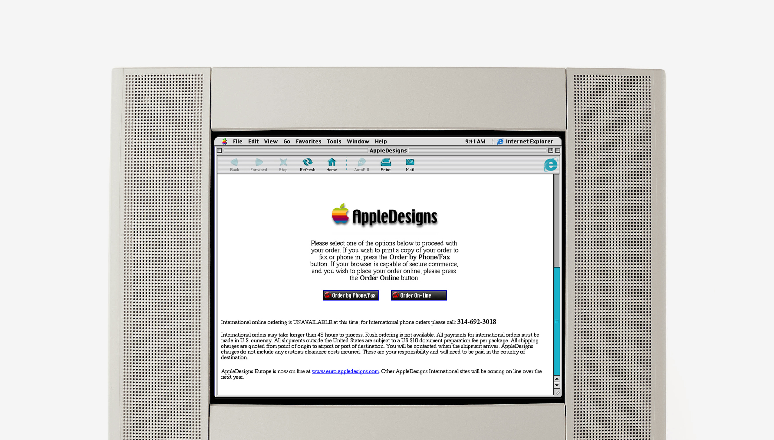 AppleDesigns Checkout