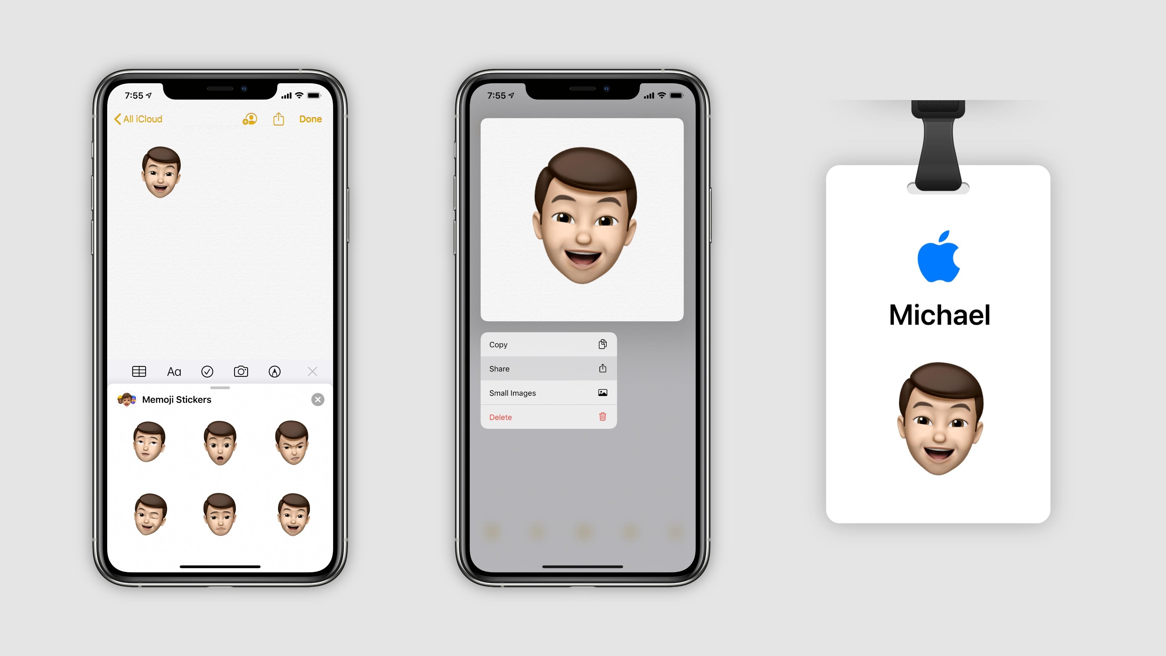 How To Make An Apple Store Memoji Badge