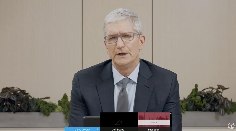 Live blog: Apple CEO Tim Cook testifies during big tech antitrust hearing