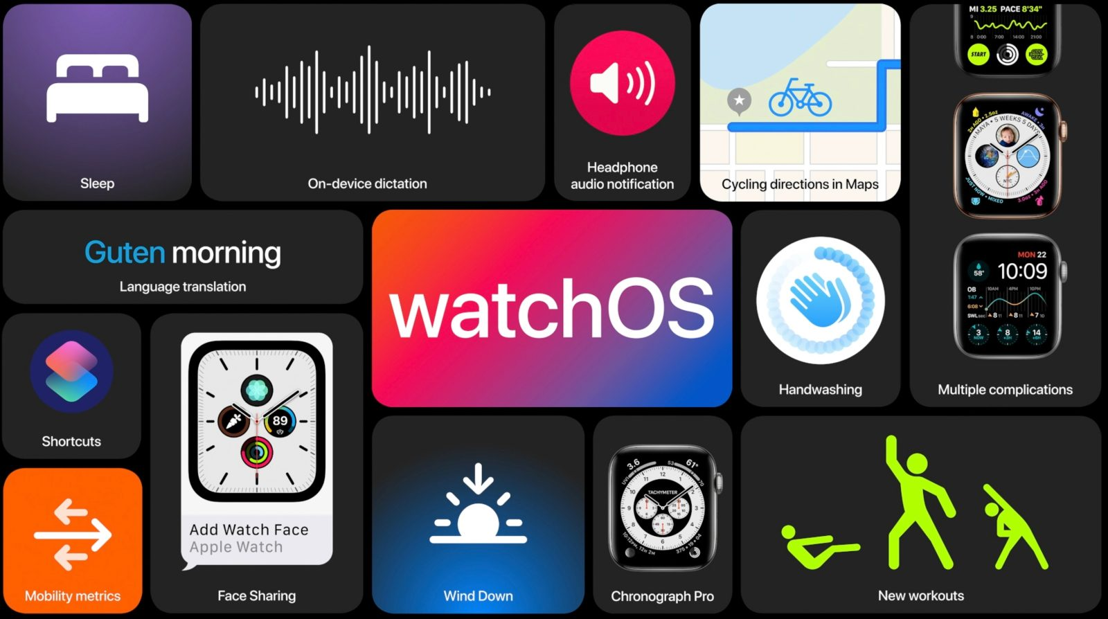 Apple releases watchOS 7 beta 2 to developers ahead of public beta release