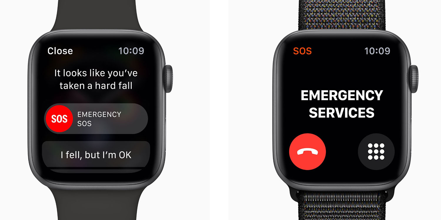 photo of Apple Watch Fall Detection could send your health data to emergency services image