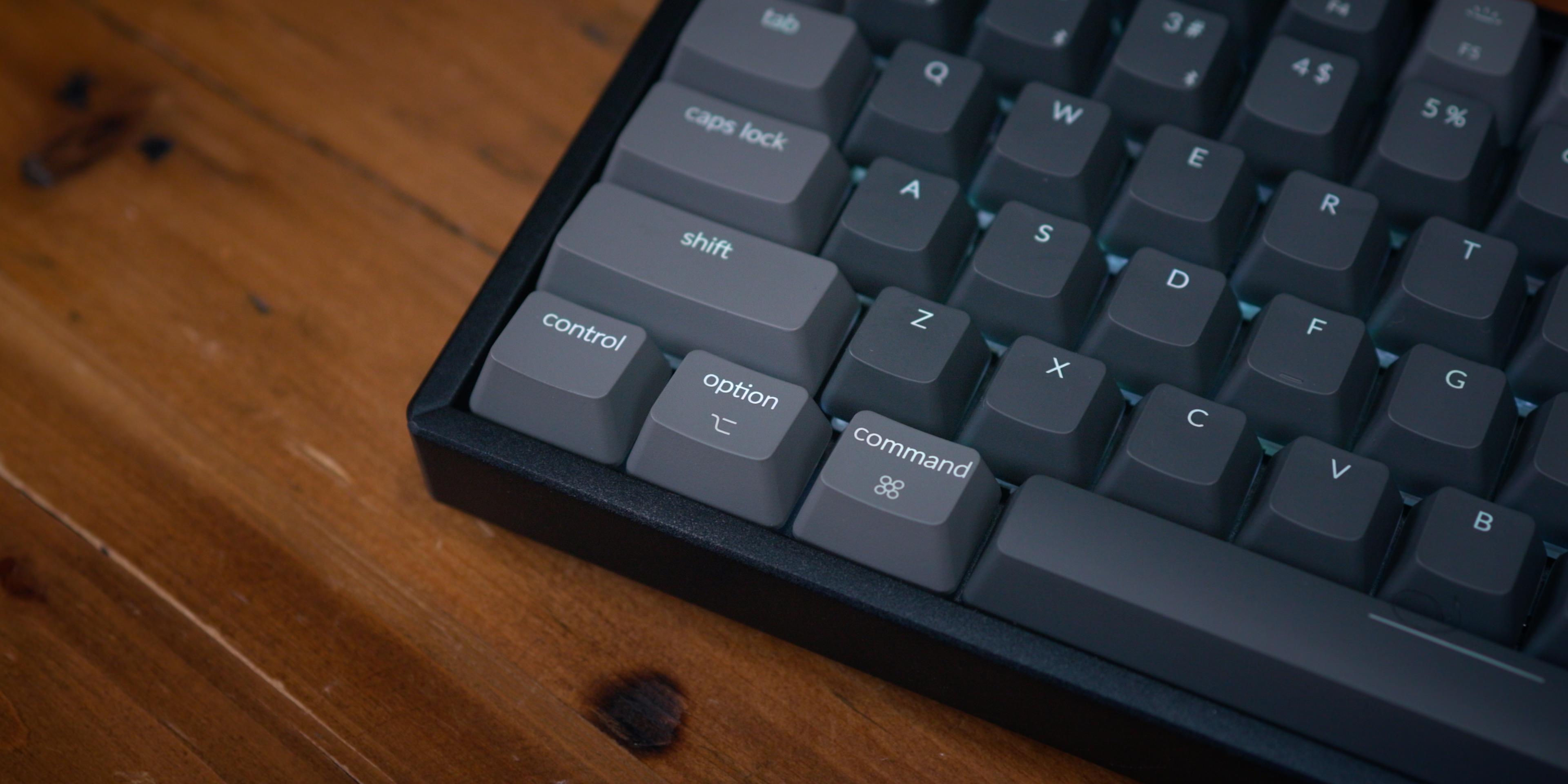 Keychron k2 v2 mac centric keys 1