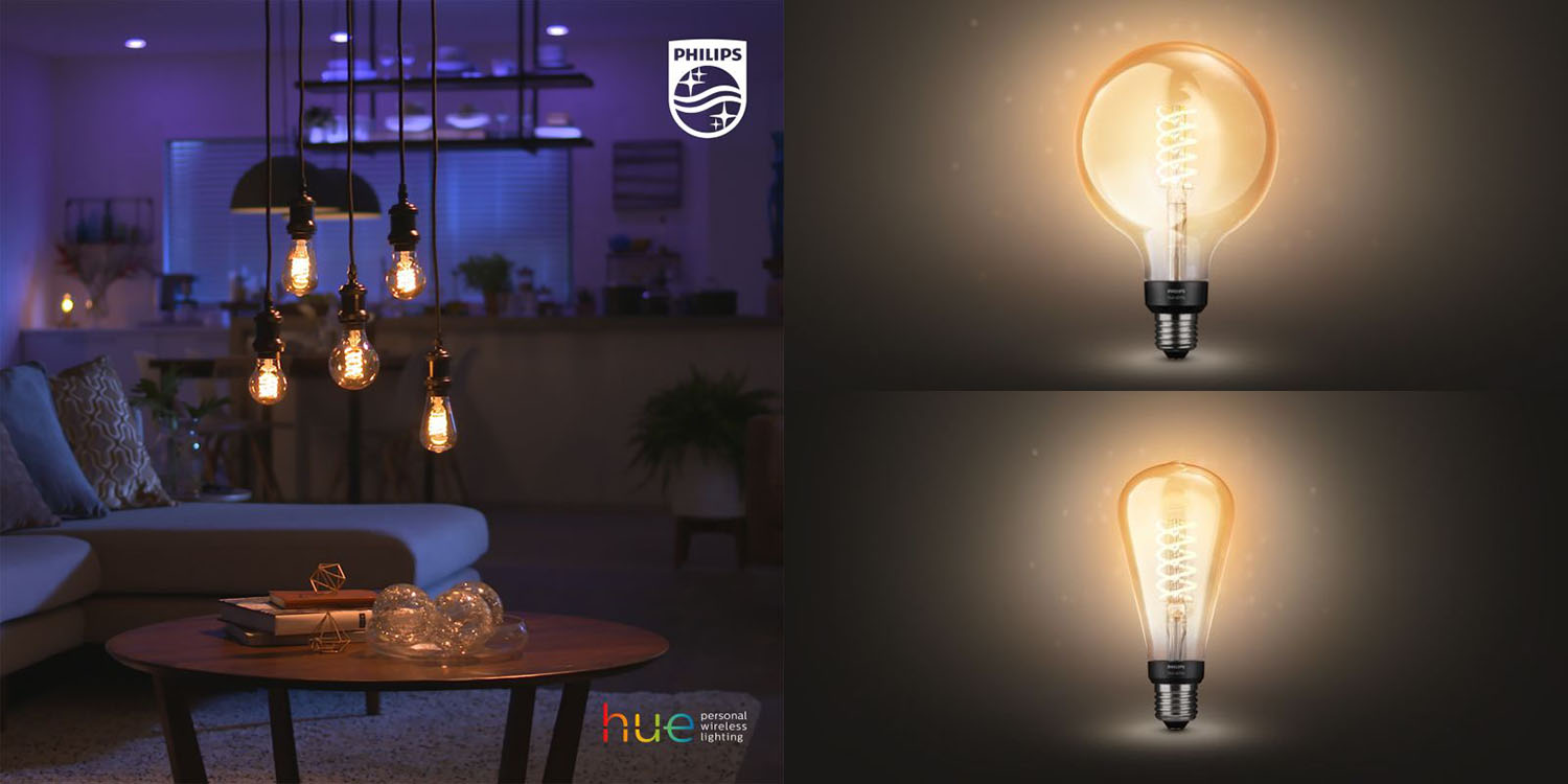 photo of Large filament bulbs and more coming to Philips Hue range image