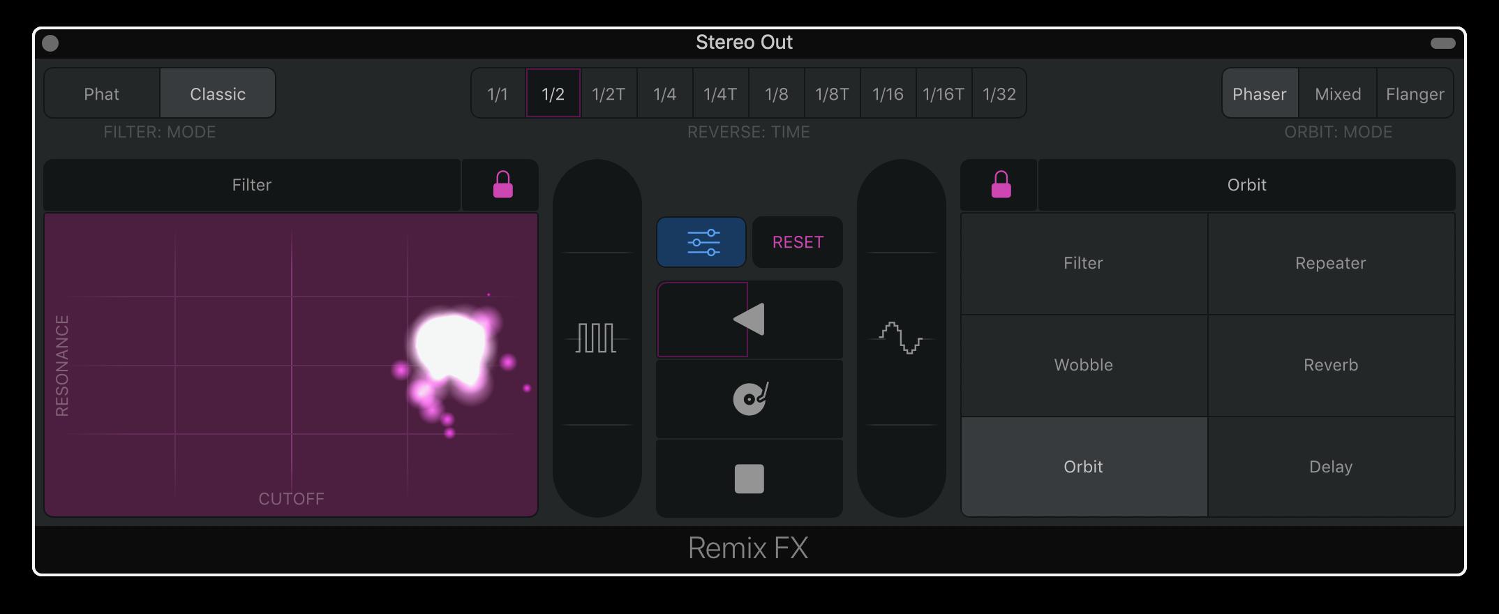 Remix FX Locks
