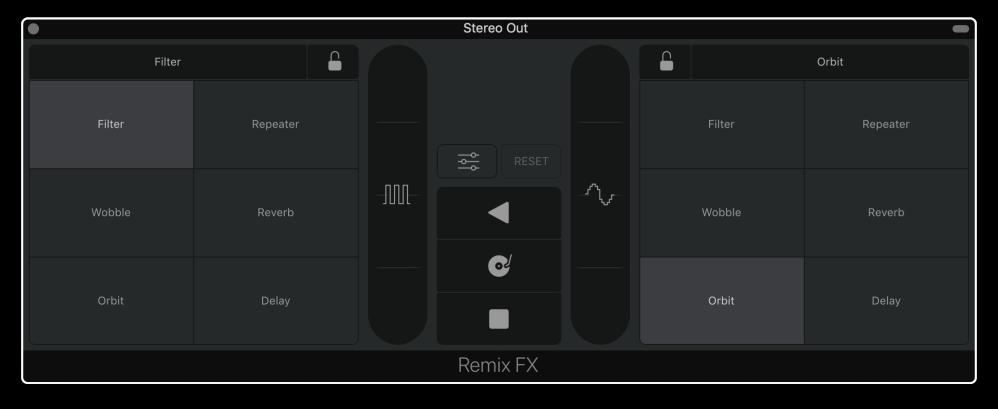 Remix FX Interface