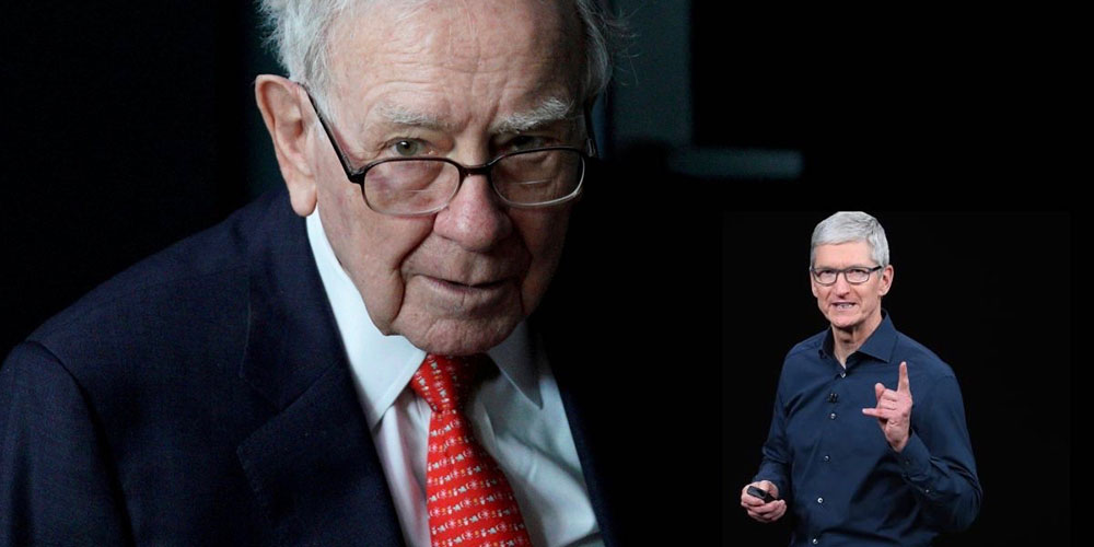 photo of Warren Buffett's $35B stake in AAPL tripled in value to $104B image