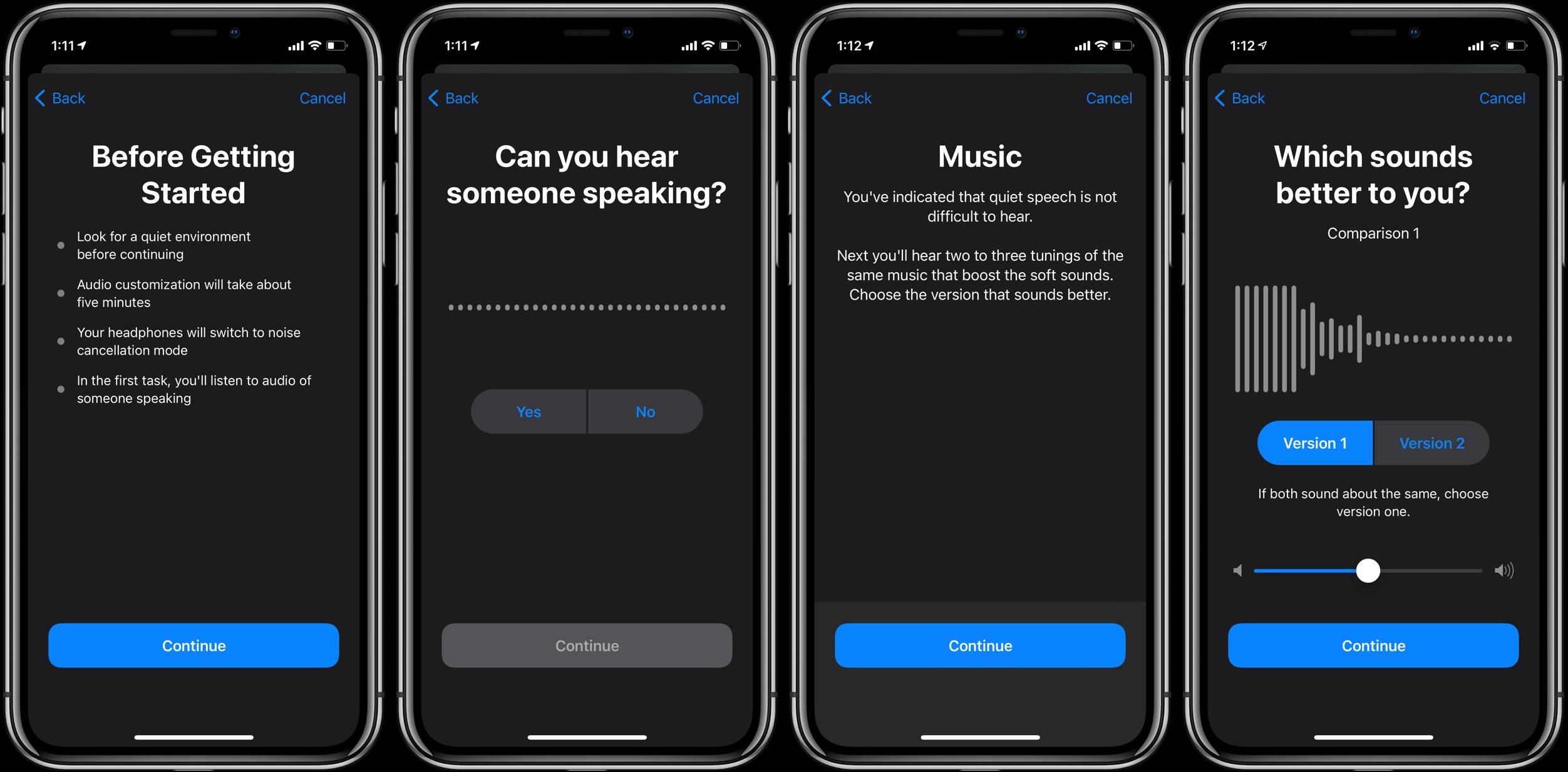 How to customize iPhone headphone audio in iOS 14 walkthrough 3
