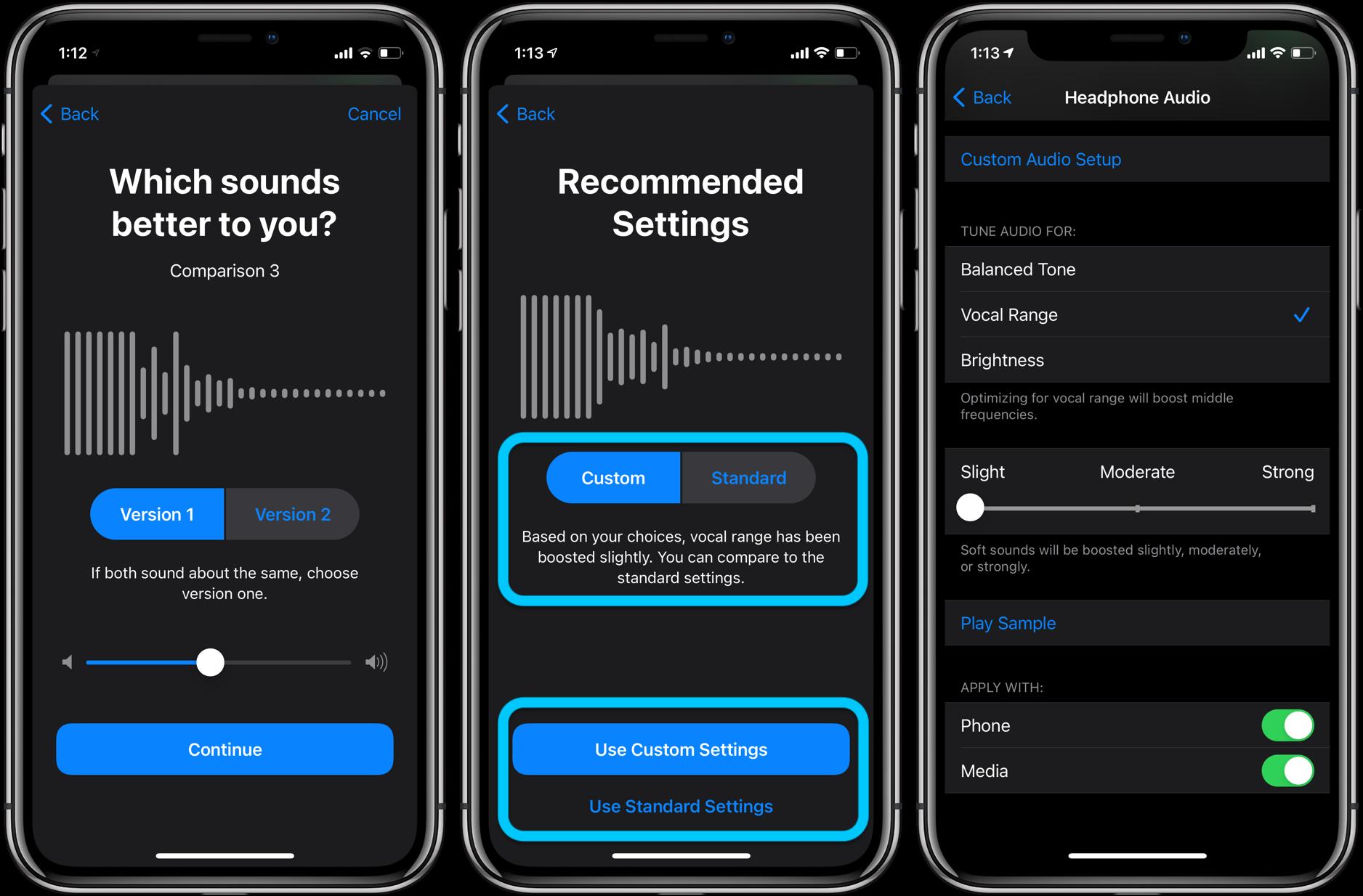 How to customize iphone headphone audio ios 14 walkthrough 4