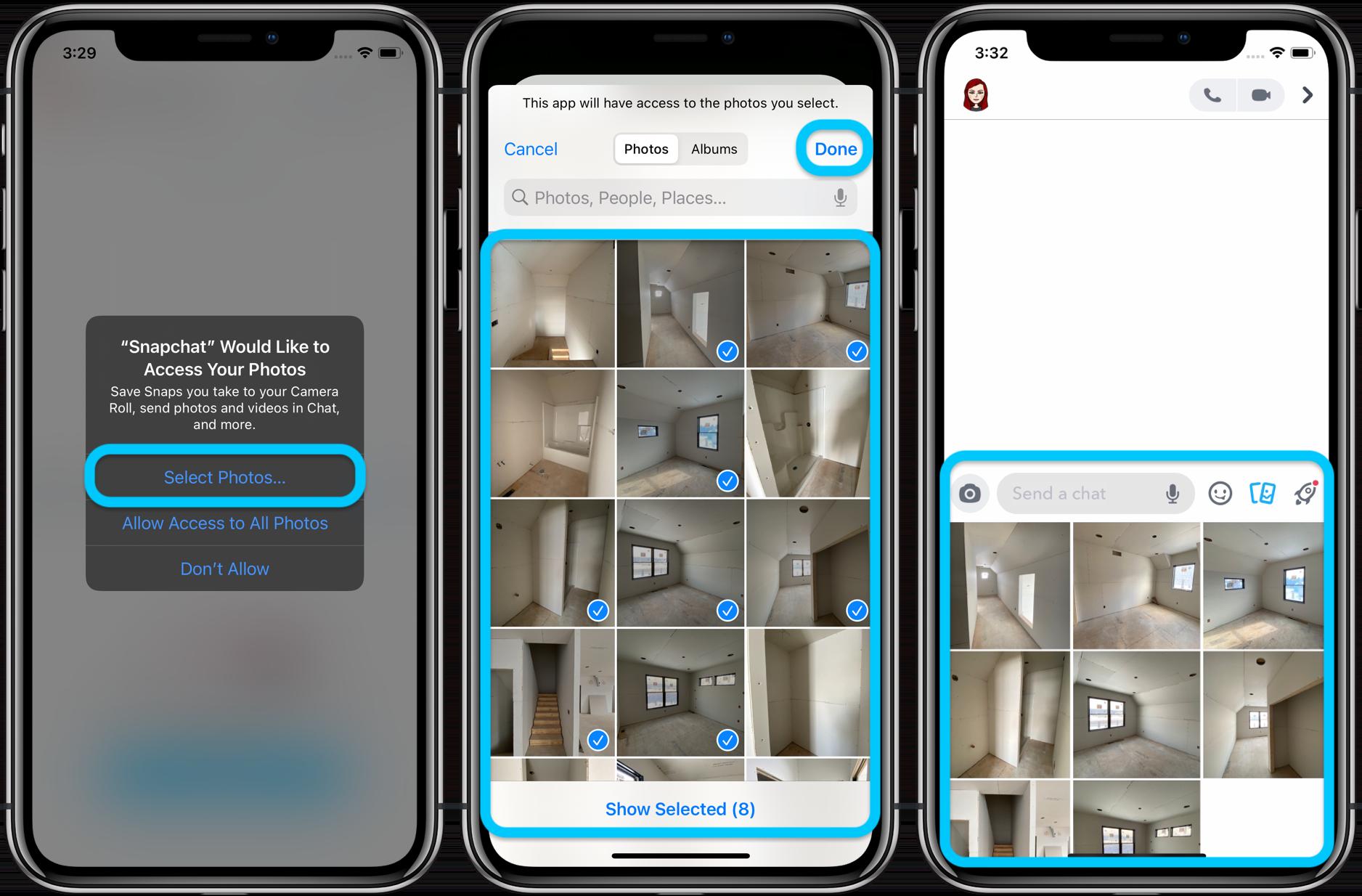 Ограничить сторонний доступ к приложению iPhone Фото в пошаговом руководстве iOS 14 1