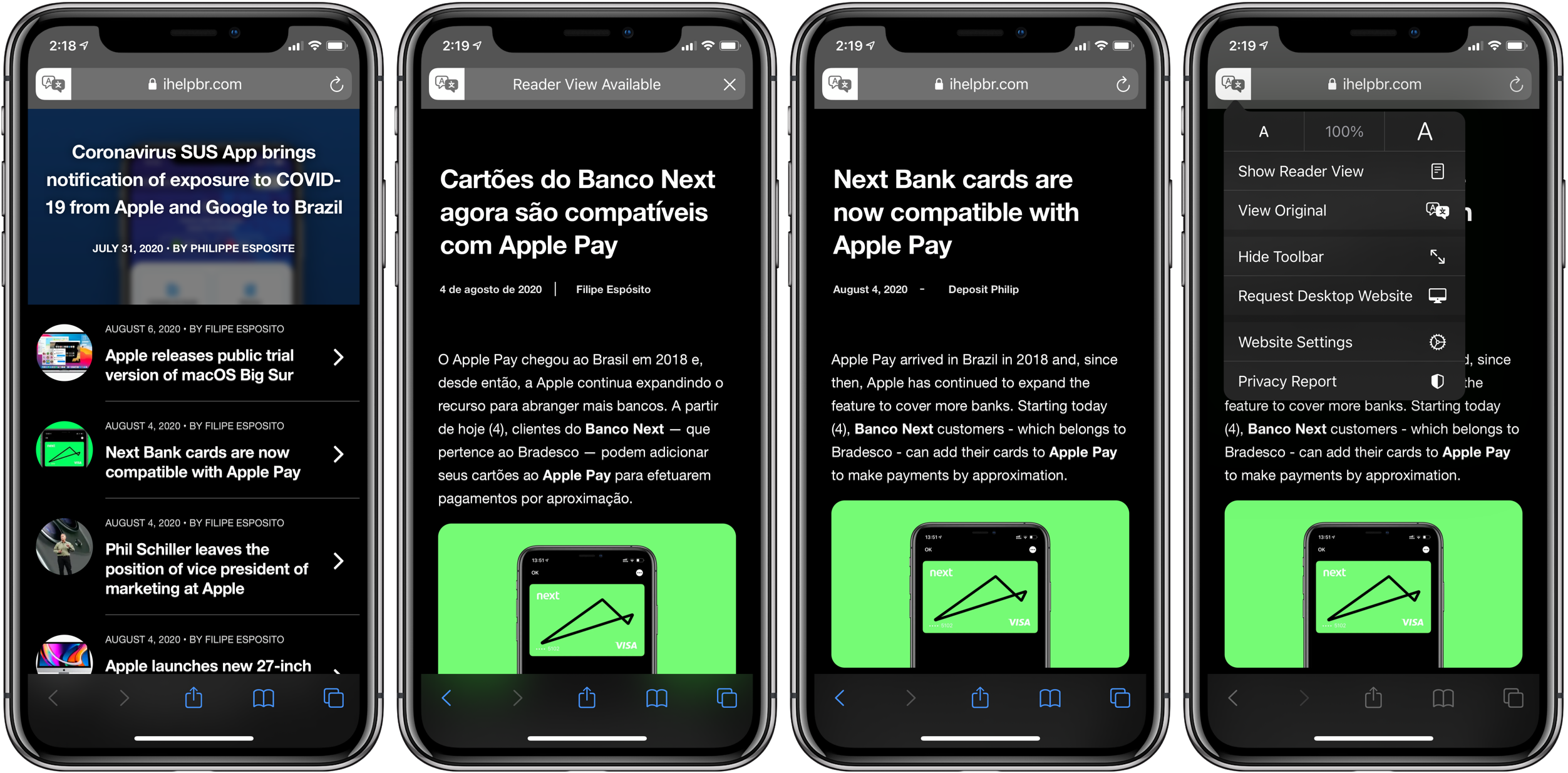 How to translate websites iPhone and iPad in iOS 14 walkthrough 2
