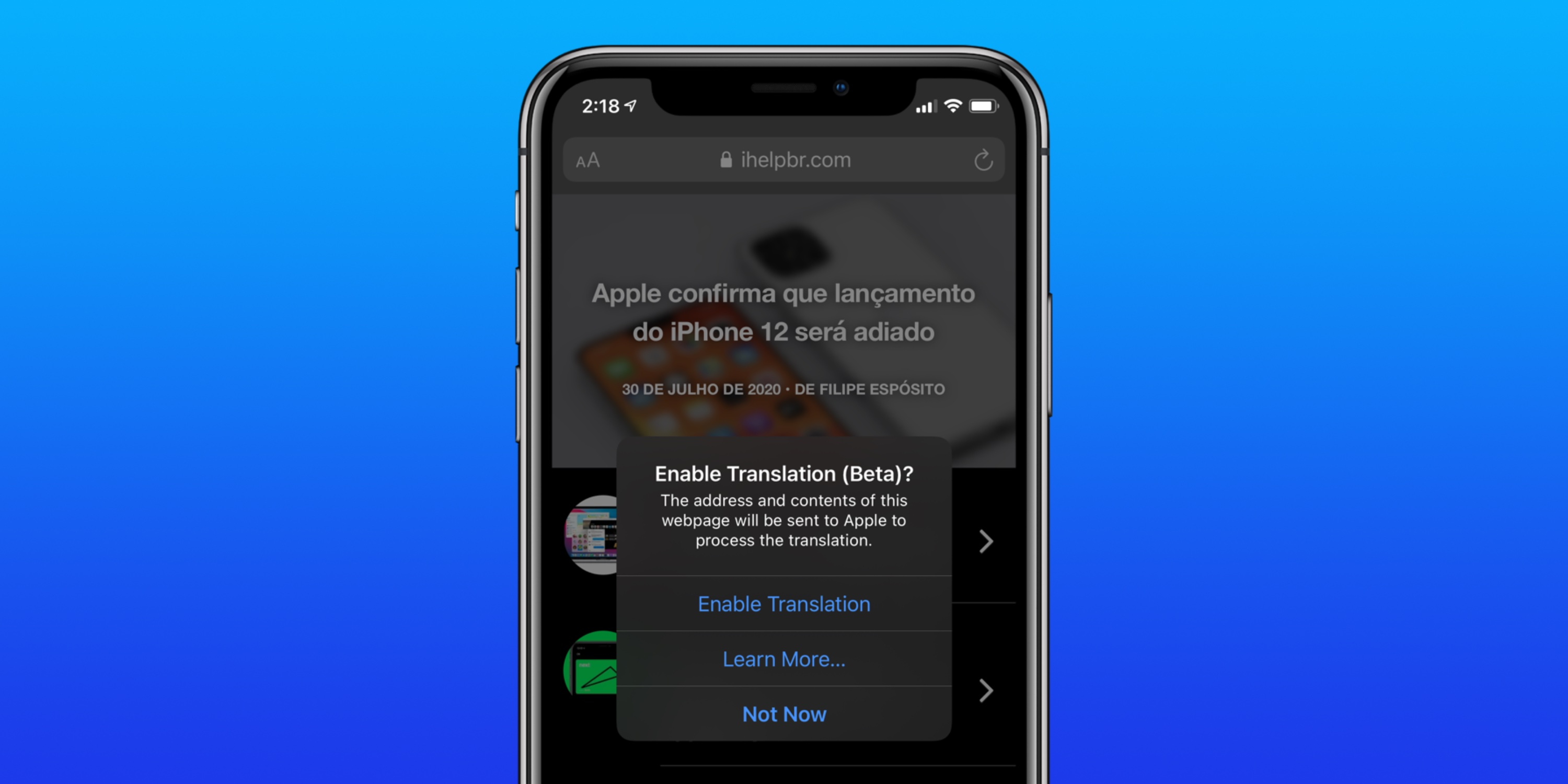 iOS 14: How to translate websites on iPhone and iPad