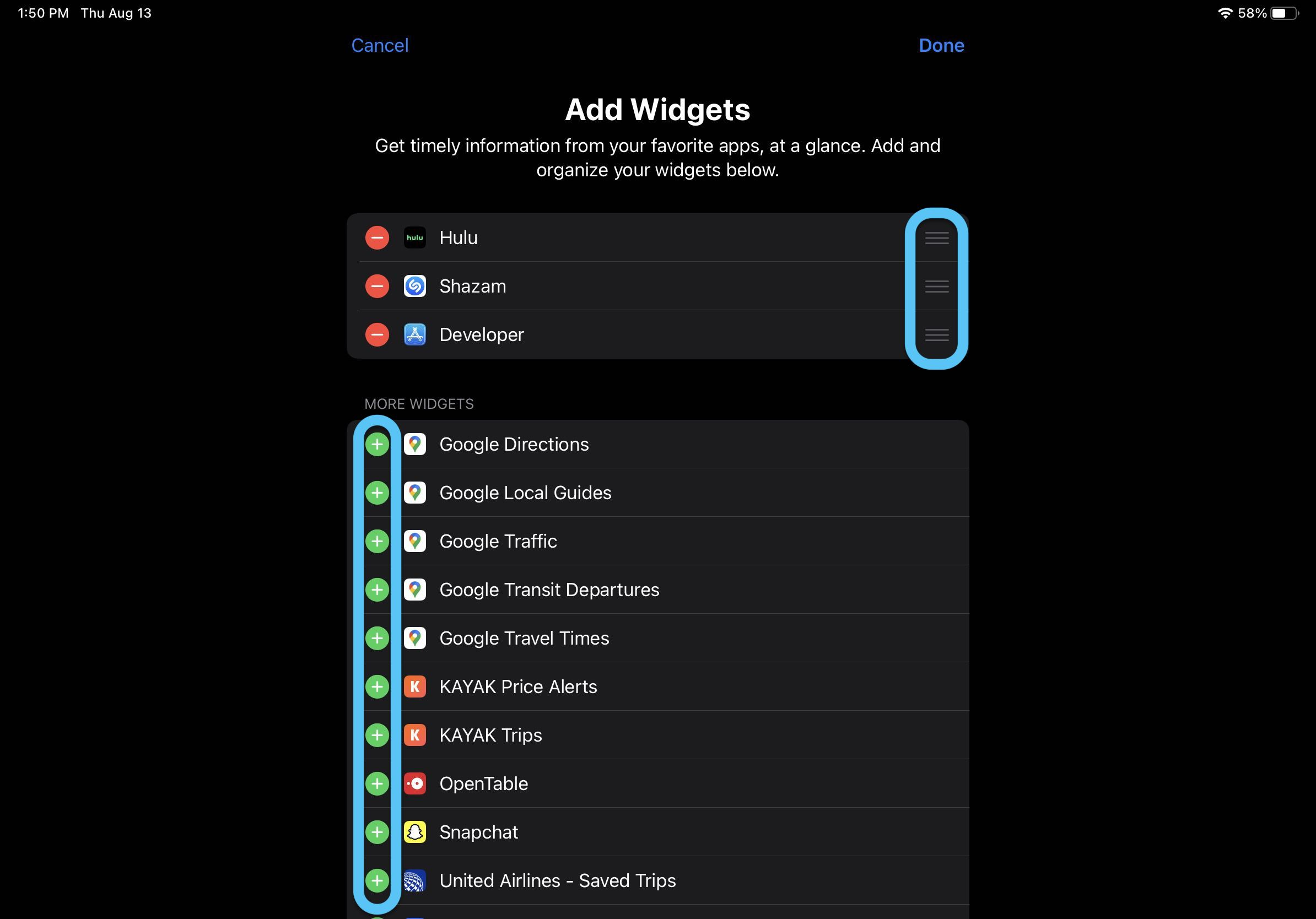 How to use iPad widgets in iOS 14 walkthrough 4