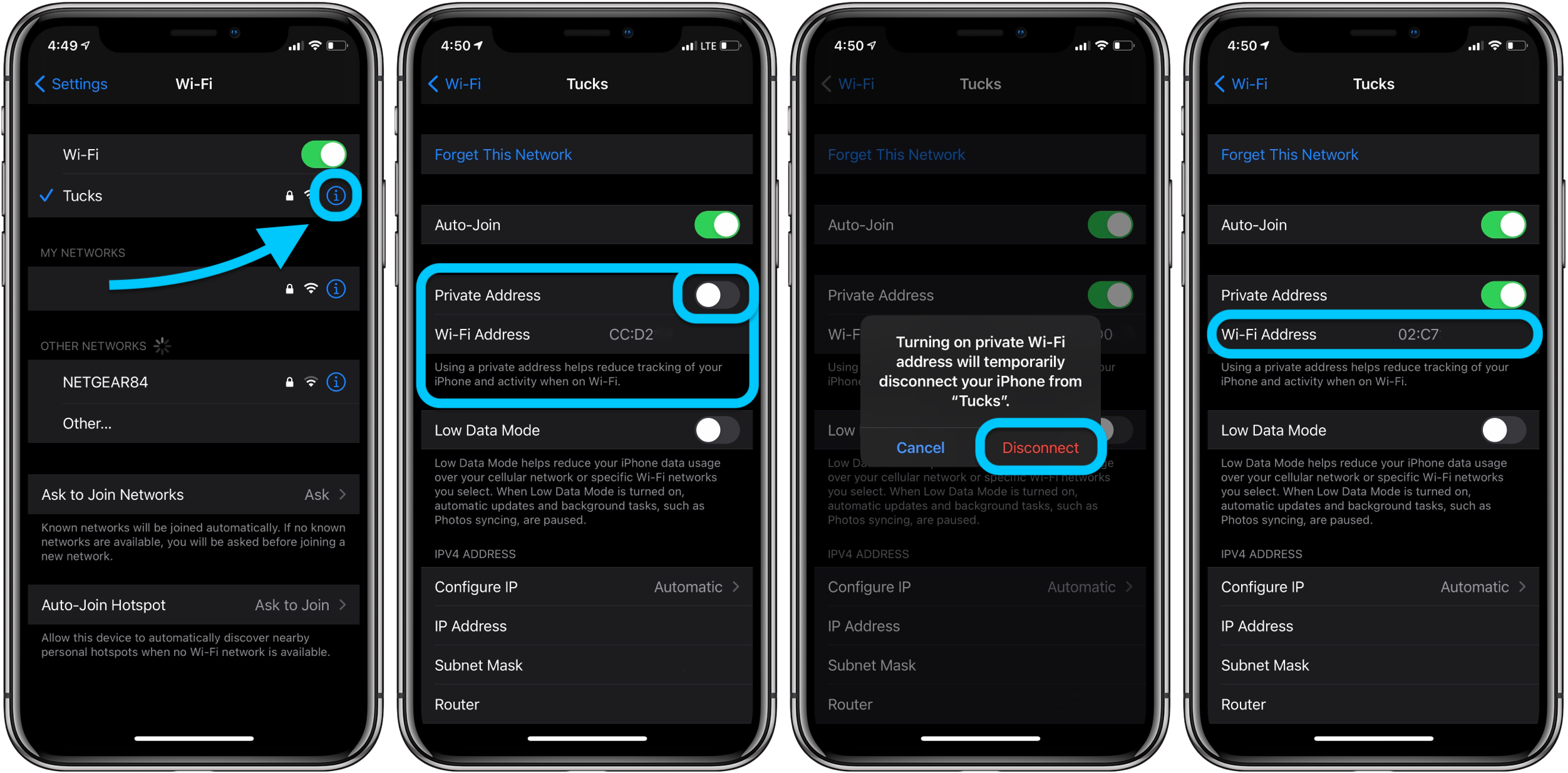 How to use private Wi-Fi MAC address on iPhone and iPad