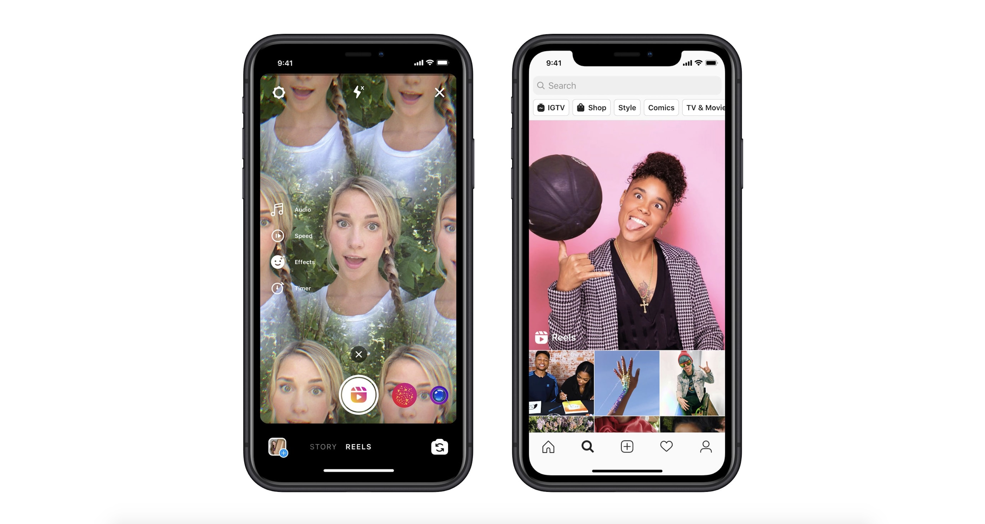 photo of Instagram clones TikTok with new short-form 'Reels' video feature launching today image