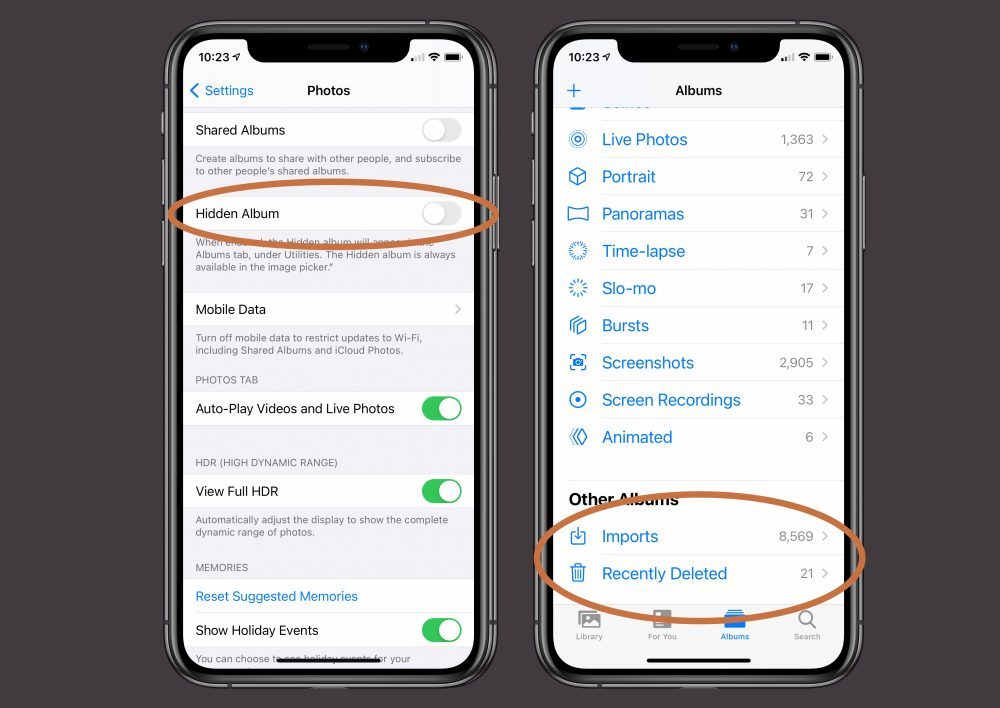 Ios 14 How To Hide Photos From The Library In The Photos App 9to5mac