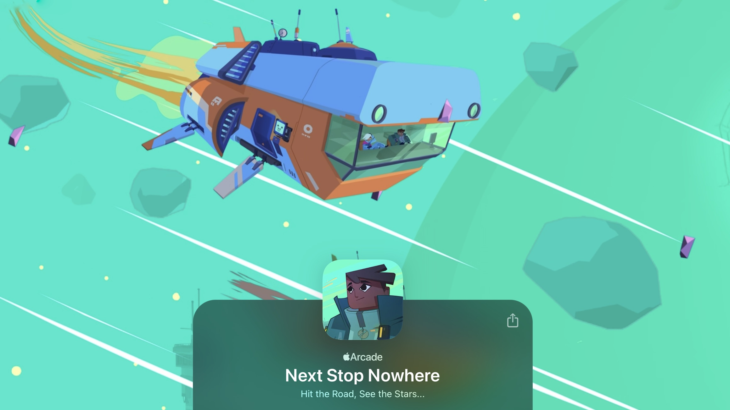 next stop nowhere space game