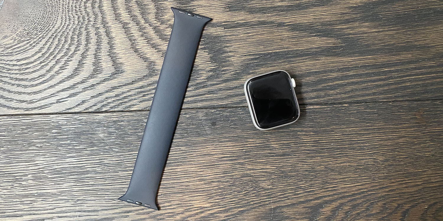 photo of First impressions of seamless Solo Loop Apple Watch band are good image