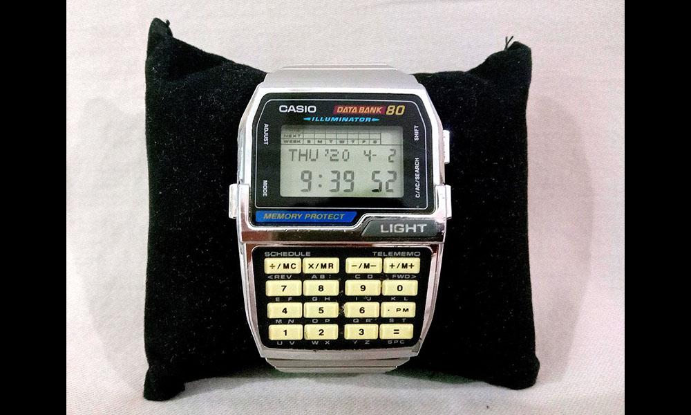 Casio databank 80