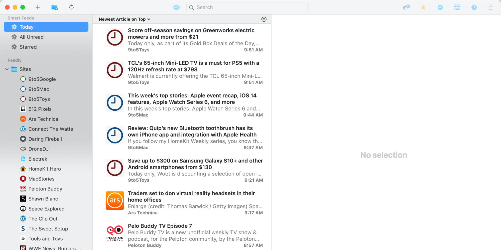 photo of NetNewsWire 5.1 for Mac brings Feedly syncing, Reader View, and more image
