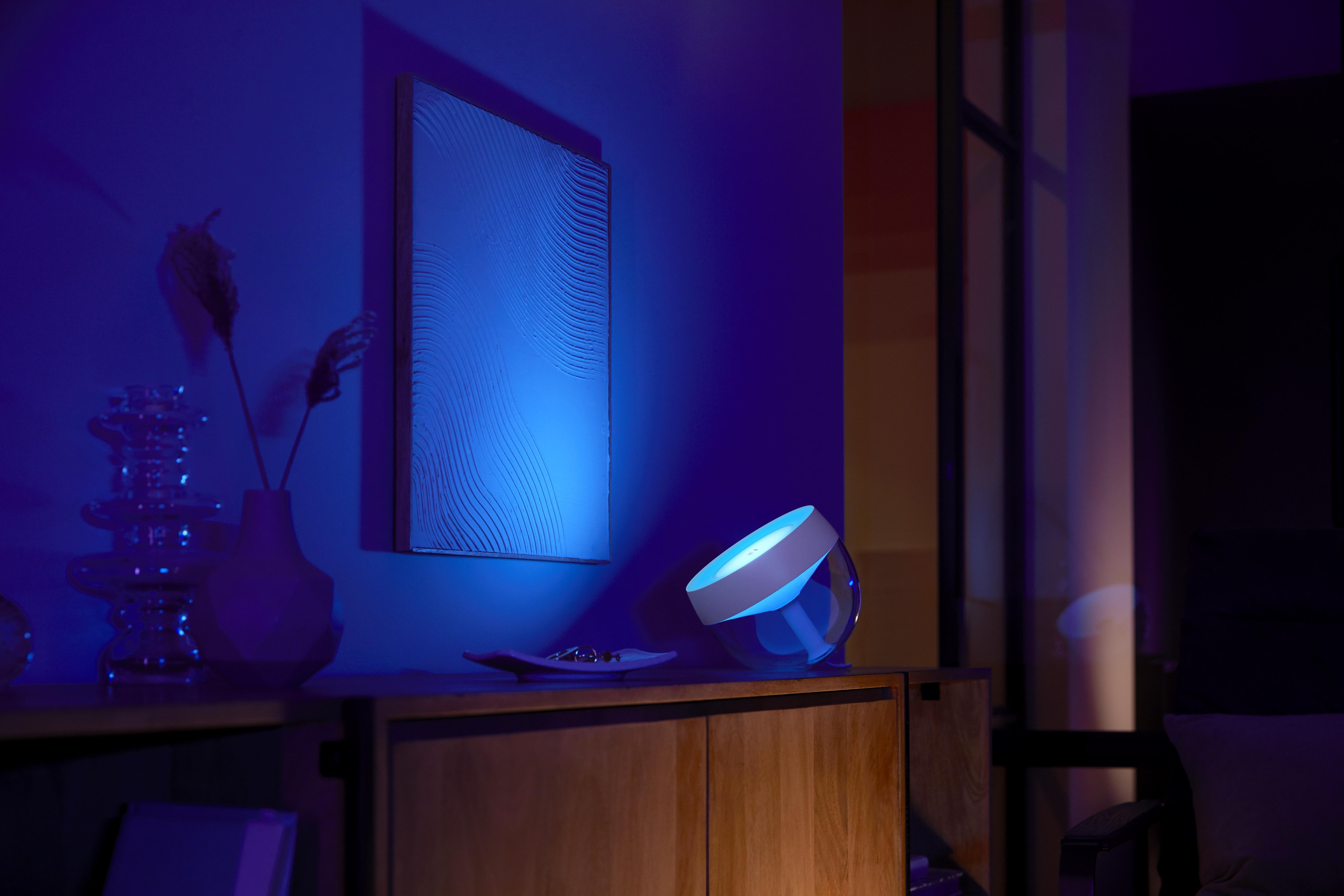 Philips Hue unveils new HomeKit gradient lightstrip, reimagined Iris table lamp, partnership with 'August'