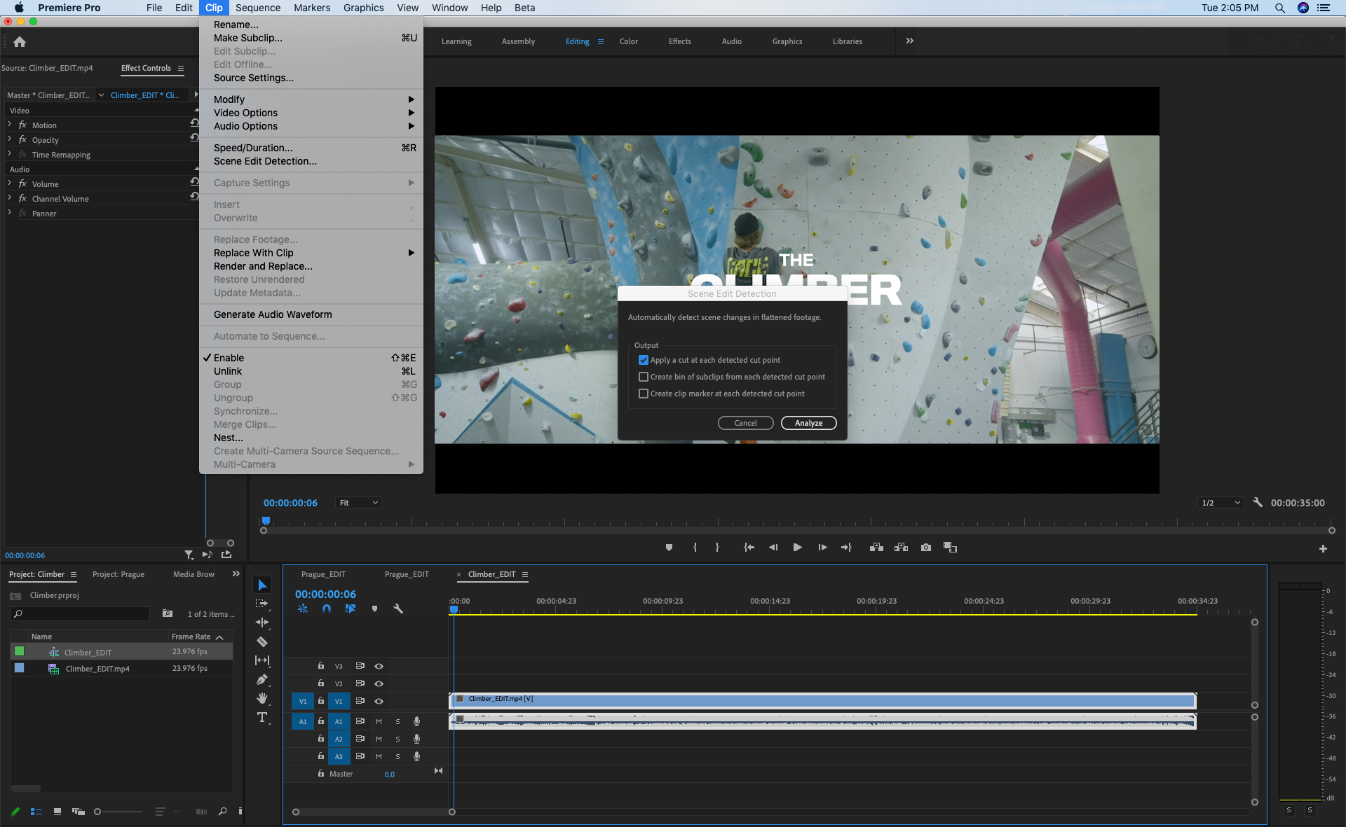 Adobe Premiere Pro Update Brings Scene Edit Detection Hdr For Broadcasters More 9to5mac