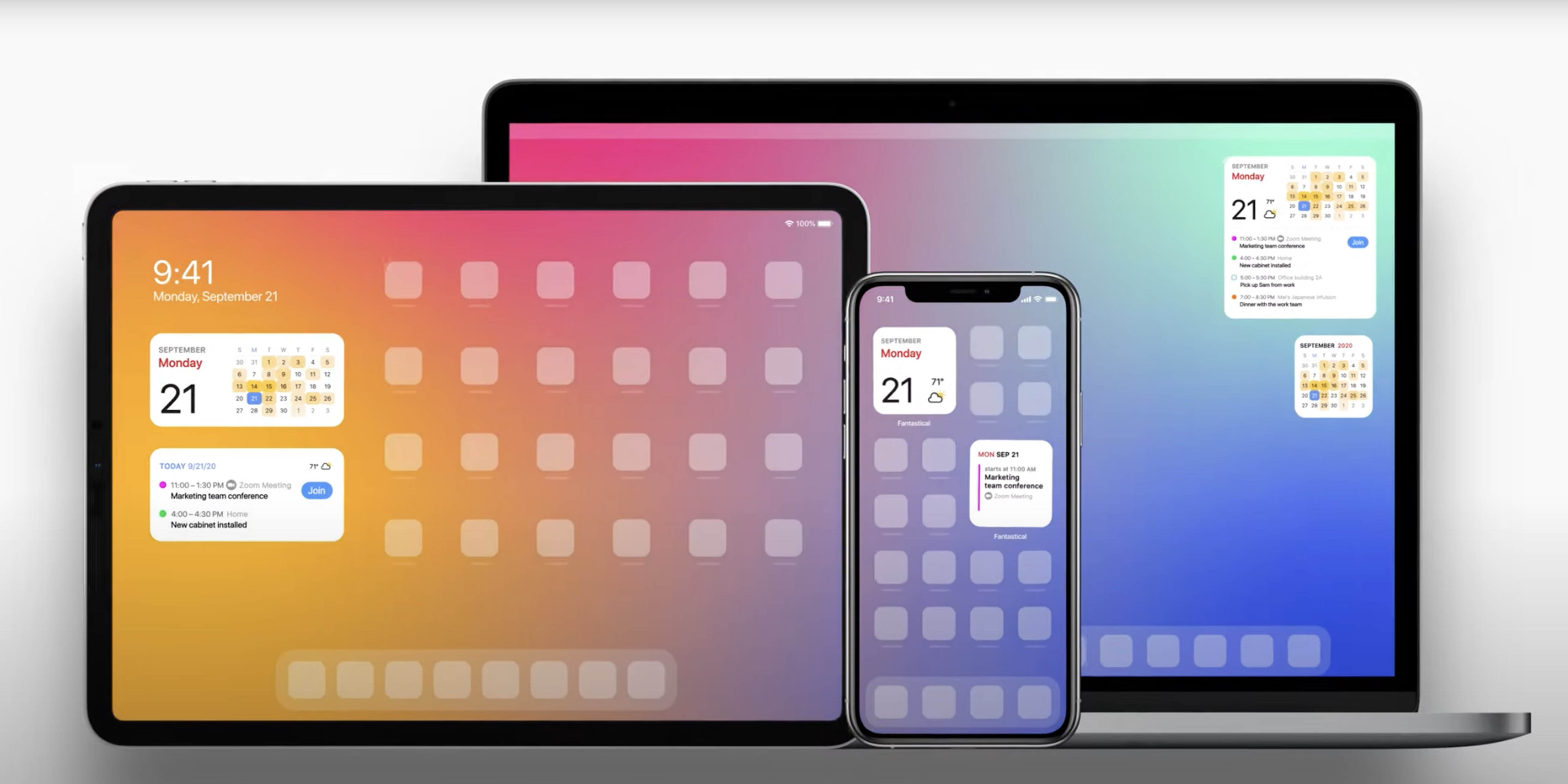 Fantastical adds 12 home screen widgets for iOS 14, Scribble support on iPad, more