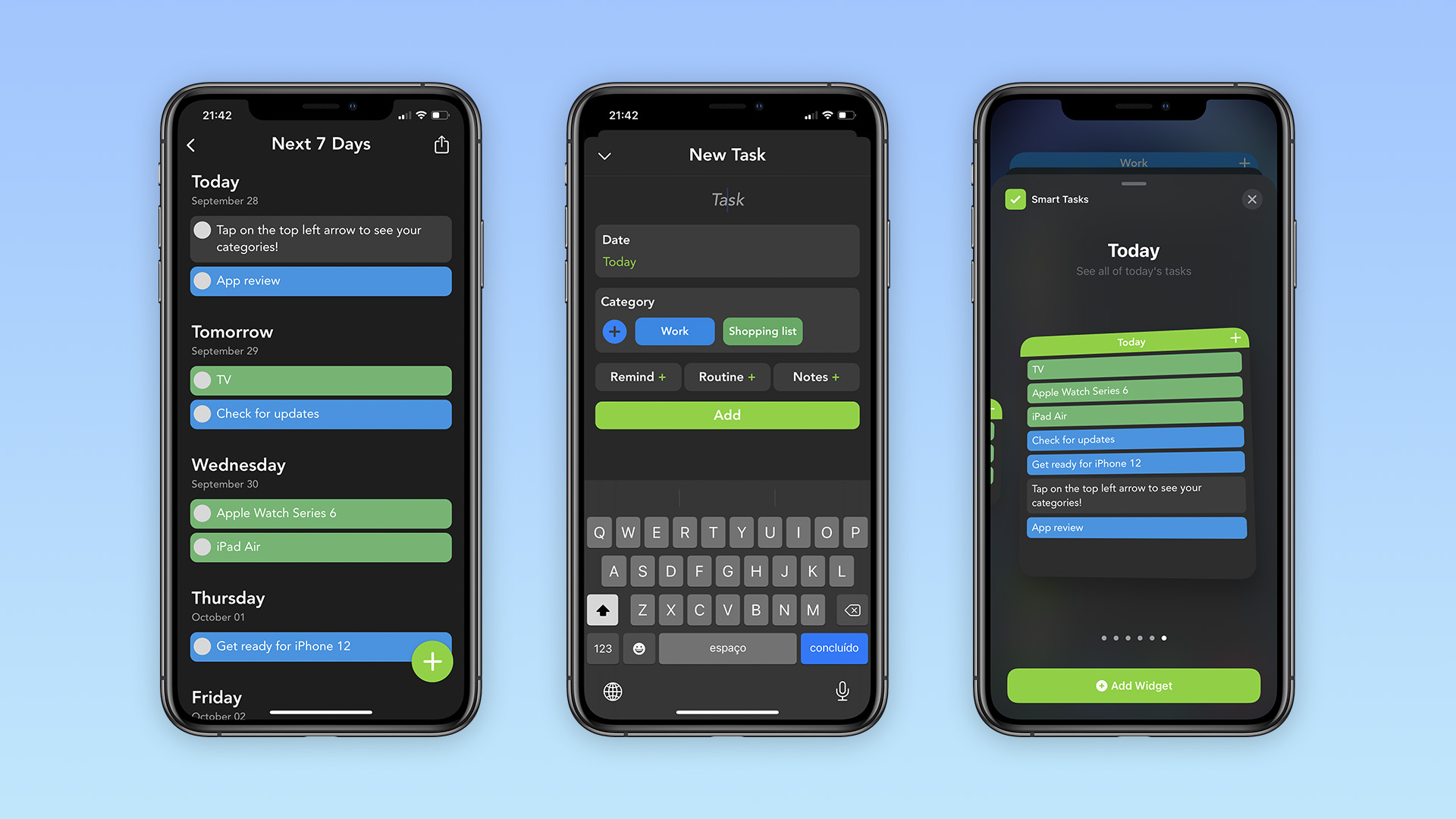 photo of Smart Tasks app lets you easily organize your entire week, now with iOS 14 home screen widgets image