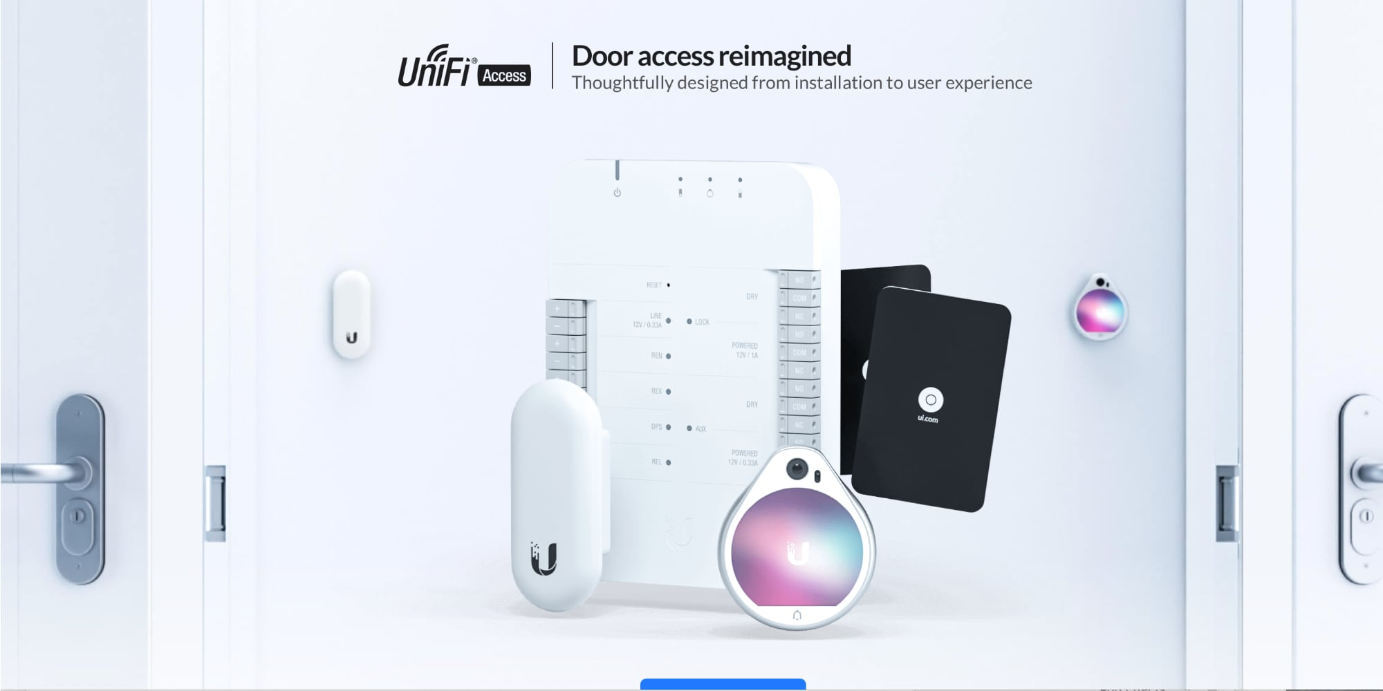 Ubiquiti launches UniFi Access to reimagine door access control
