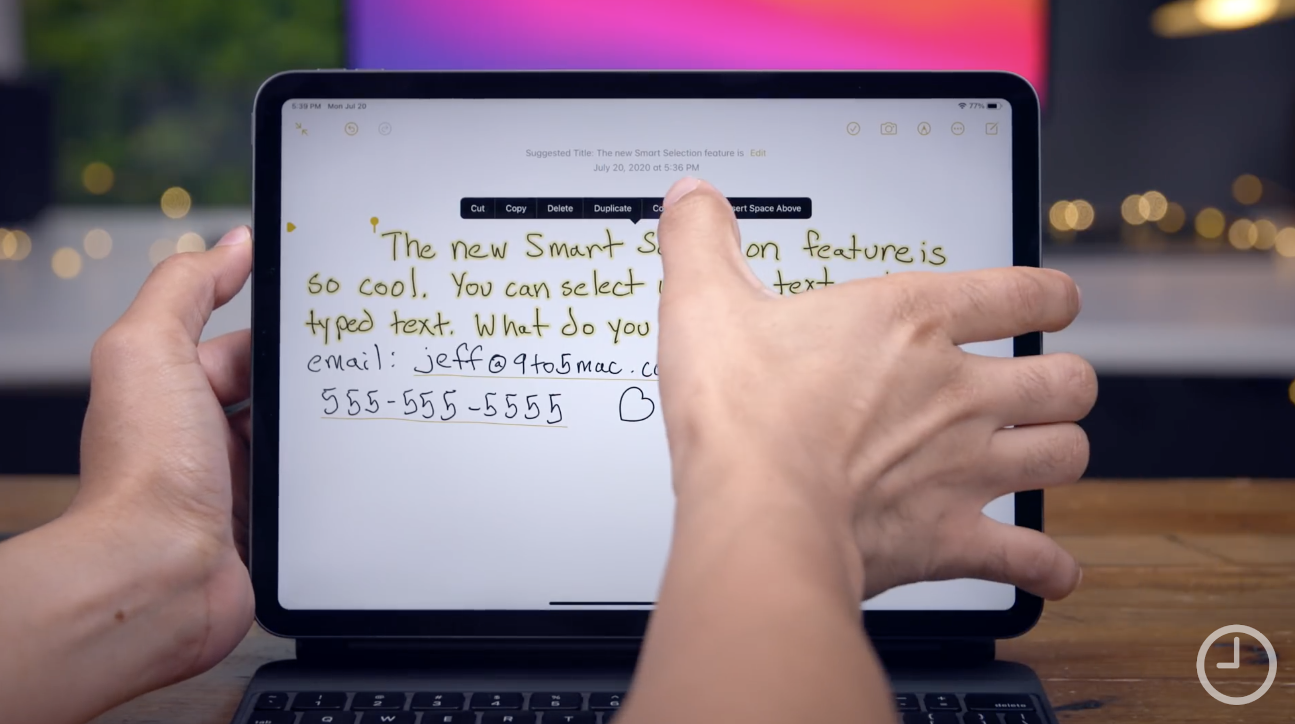 Apple releases iPadOS 14 for iPad handwriting detection