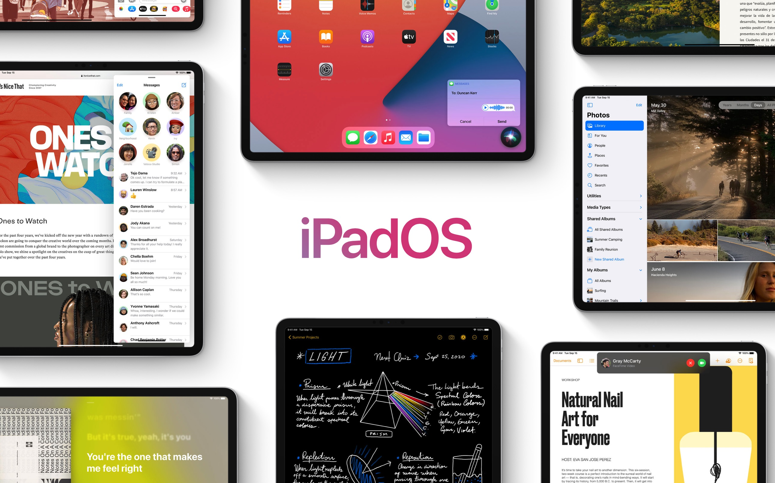 photo of Apple releases iPadOS 14 with new widgets, Apple Pencil powerups, more image