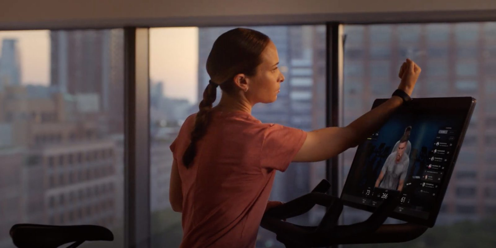 Peloton launches new 'Bike+' exercise bike featuring Apple Watch GymKit support