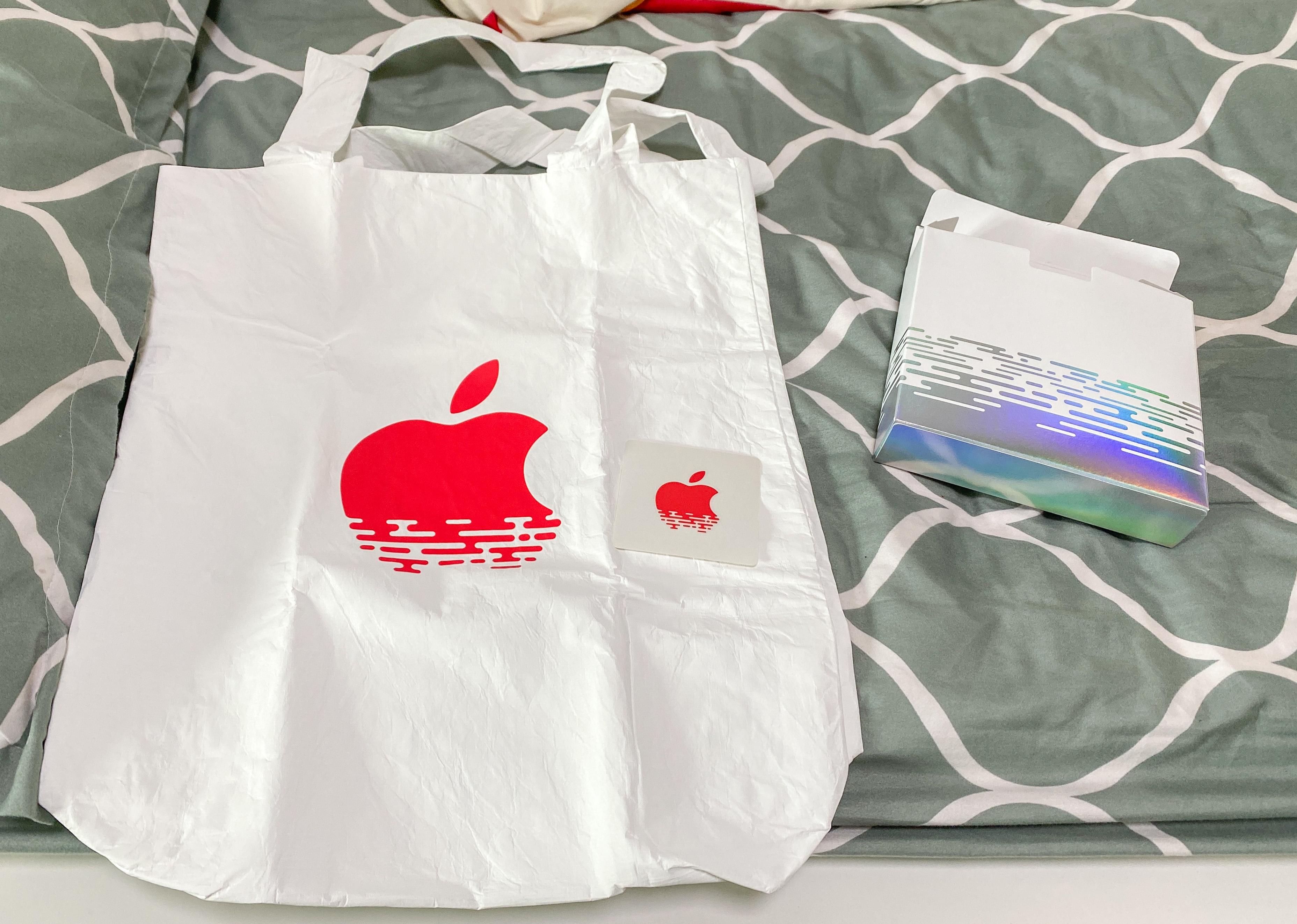 Apple mbs tote