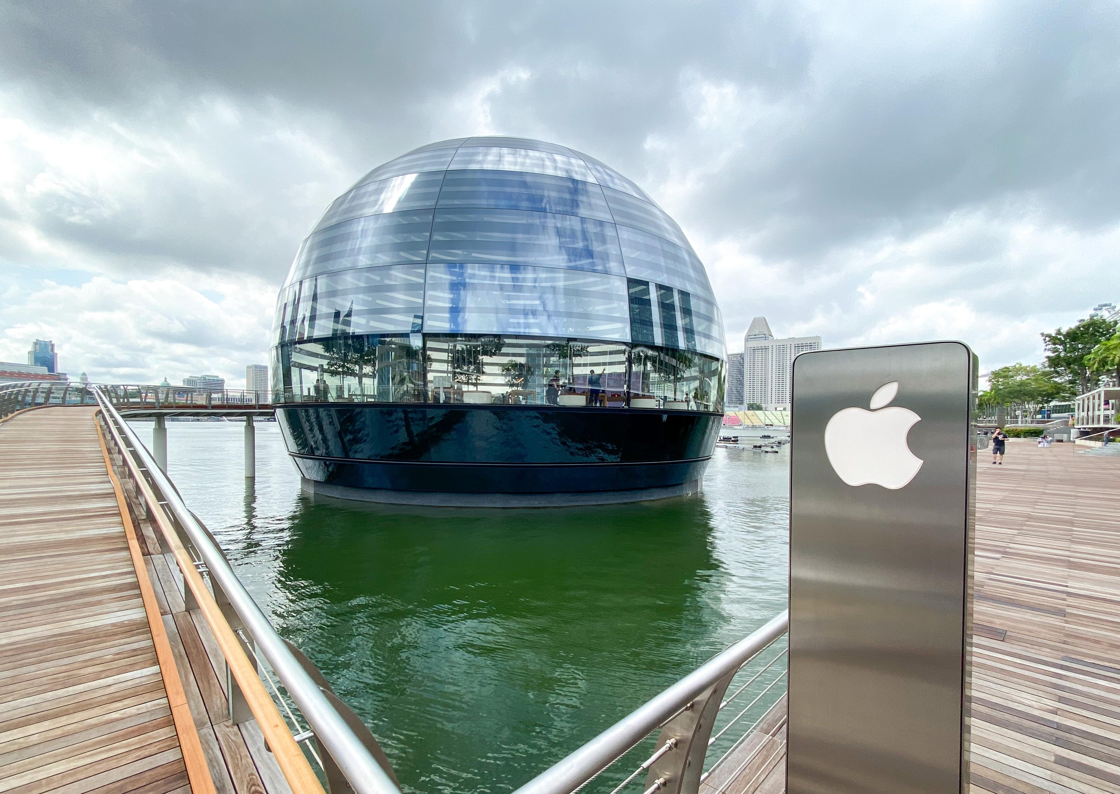 Apple mbs water