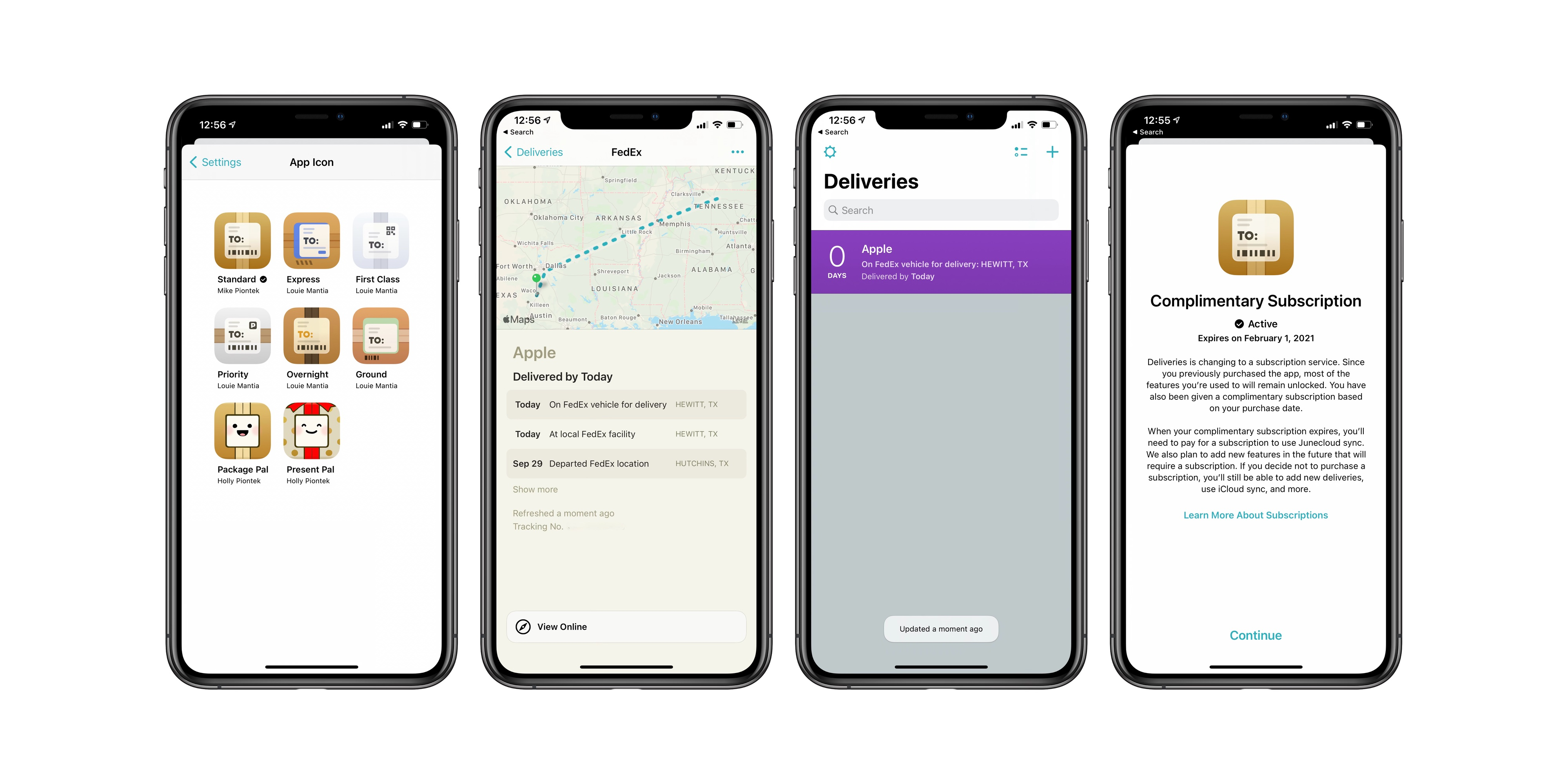 photo of Deliveries package tracking app switches to subscription model, updated with new design and more image