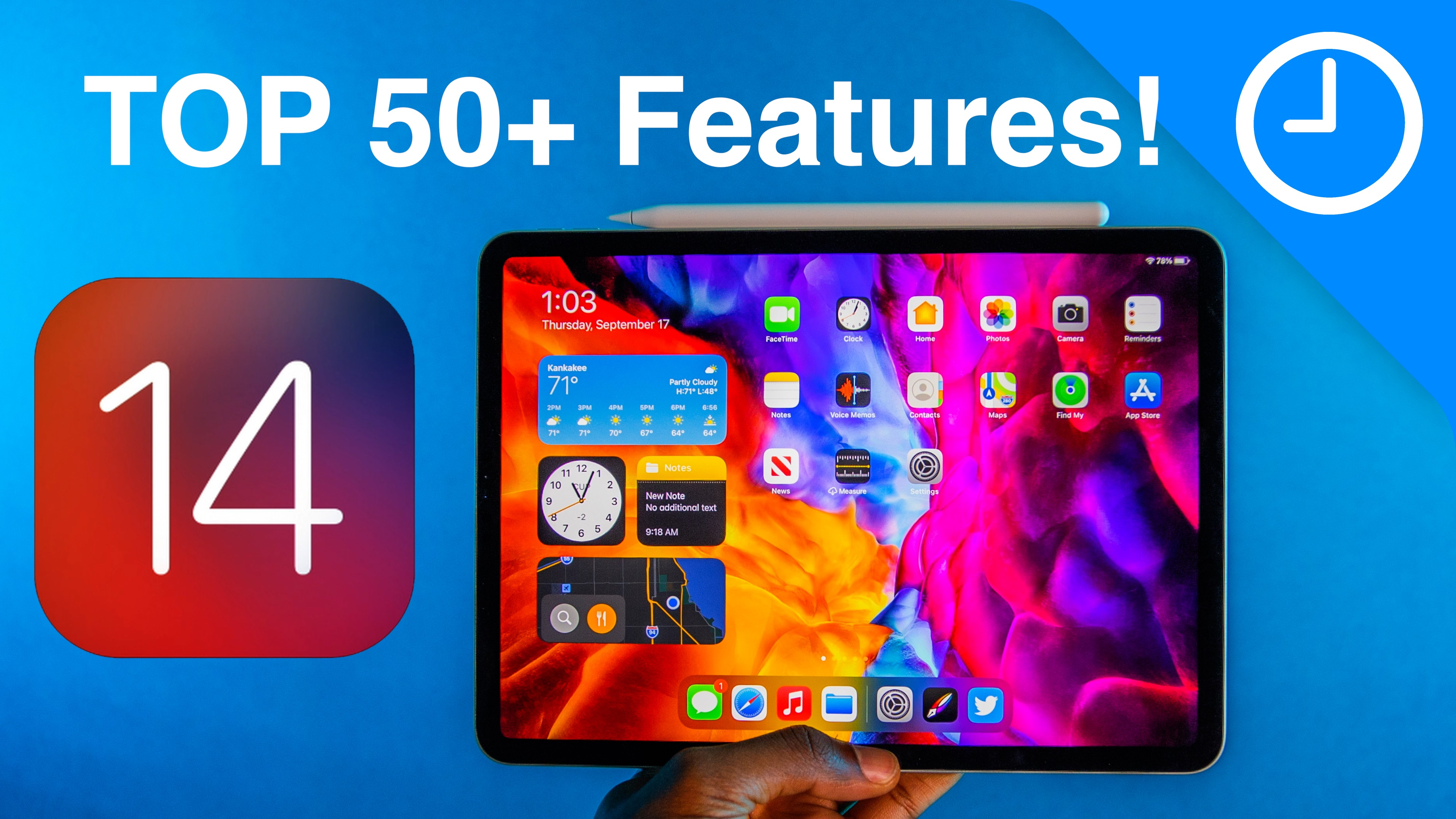 iPadOS 14 – 50+ Top Features and Changes! [Video]