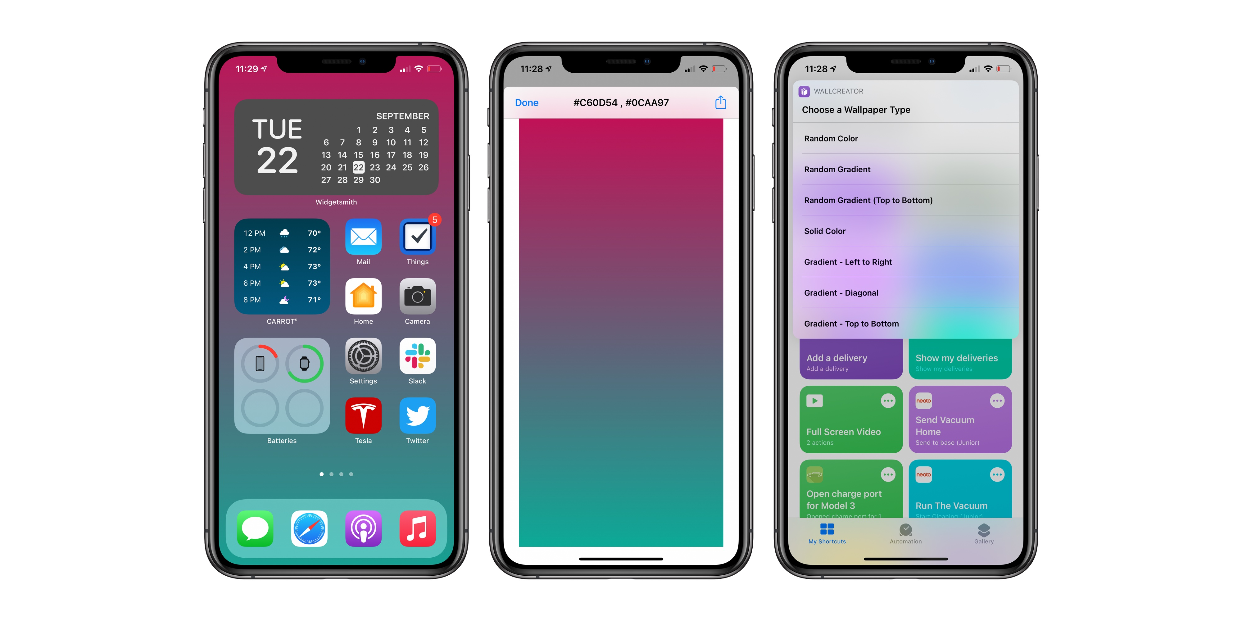 photo of How to use the Shortcuts app to automatically create custom iOS wallpapers image