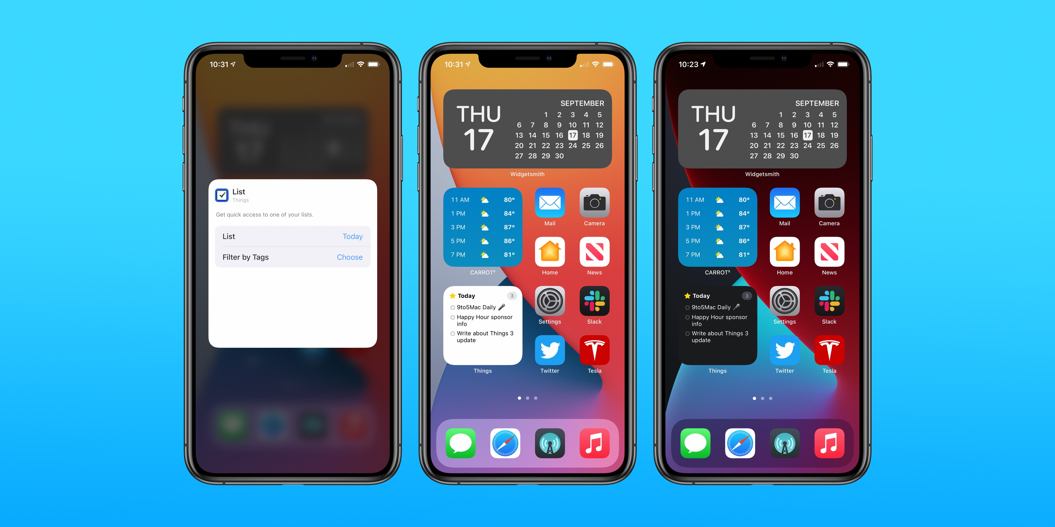 Things 3 task manager adds versatile home screen widgets new Apple Watch complications more – 9to5Mac