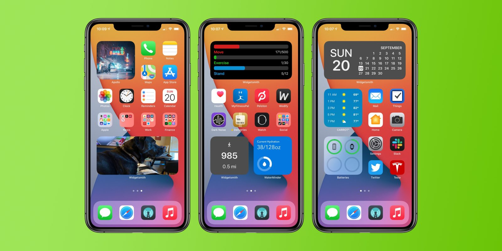 Hands-on: Widgetsmith brings ultra-customizable widgets to your iOS 14 home screen