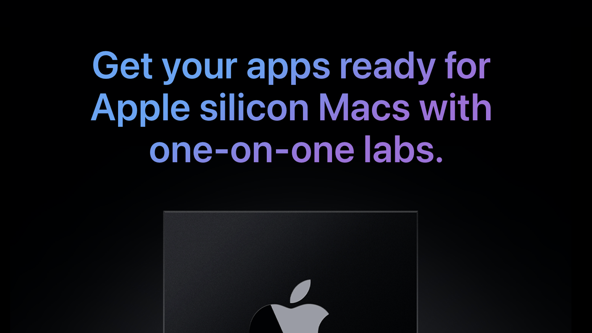 photo of Apple invites macOS developers to special labs ahead of 1st Apple Silicon Mac announcement image